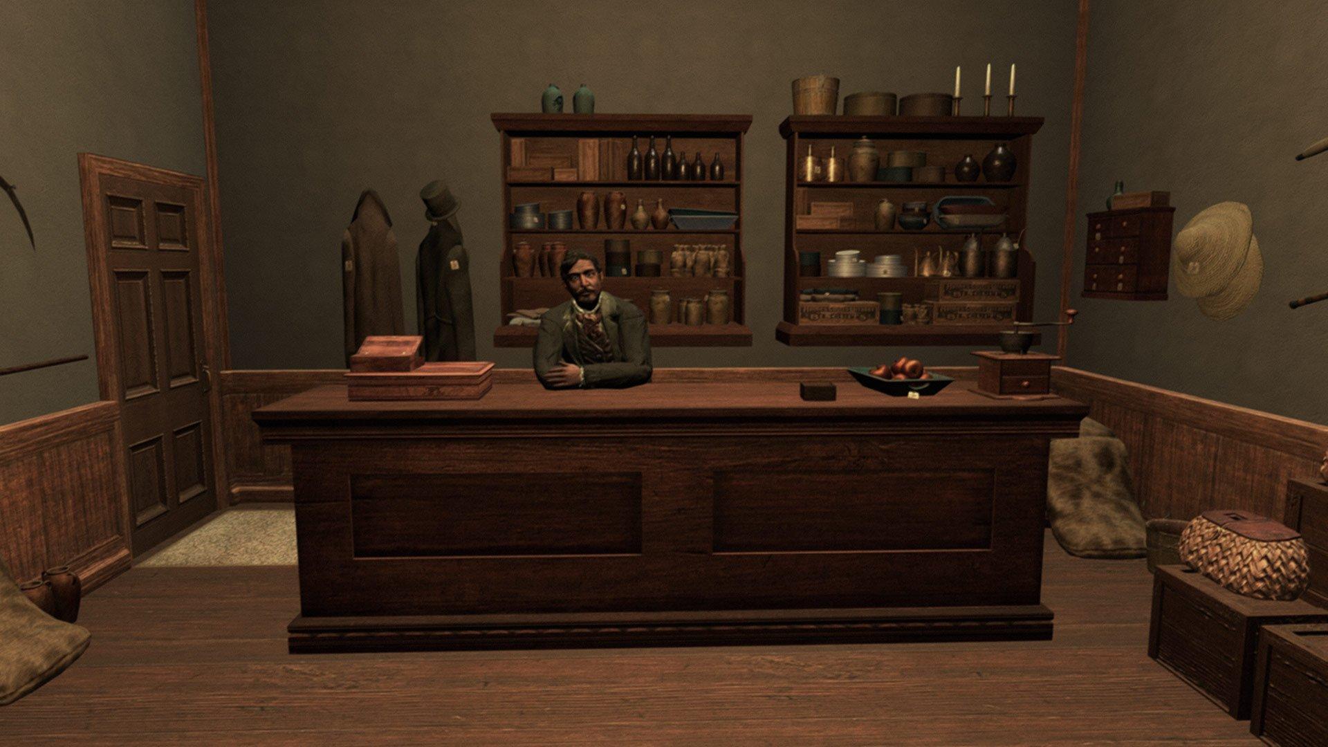 Screenshot from Walden, a game