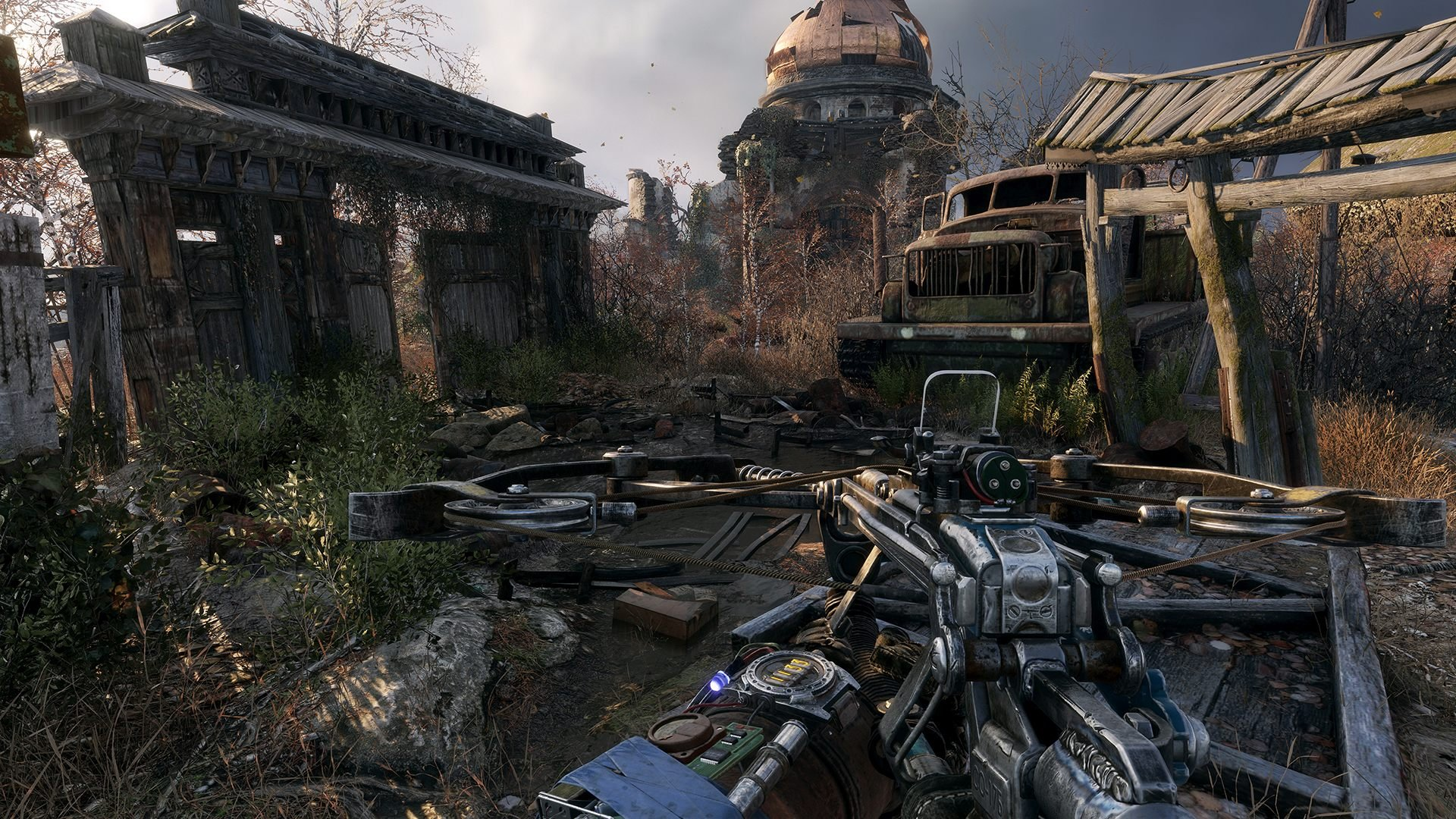Metro Exodus screenshot gameplay ranger update new game+ plus