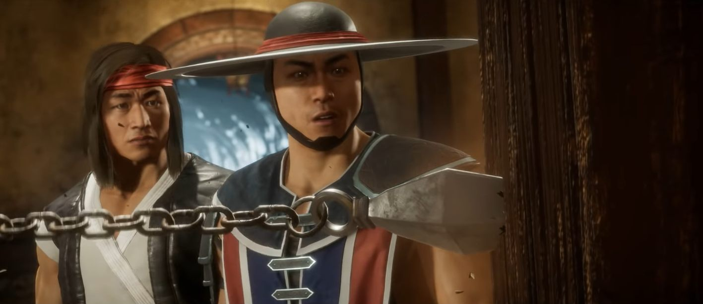 Mortal Kombat 11 new story trailer time travel characters cage briggs black