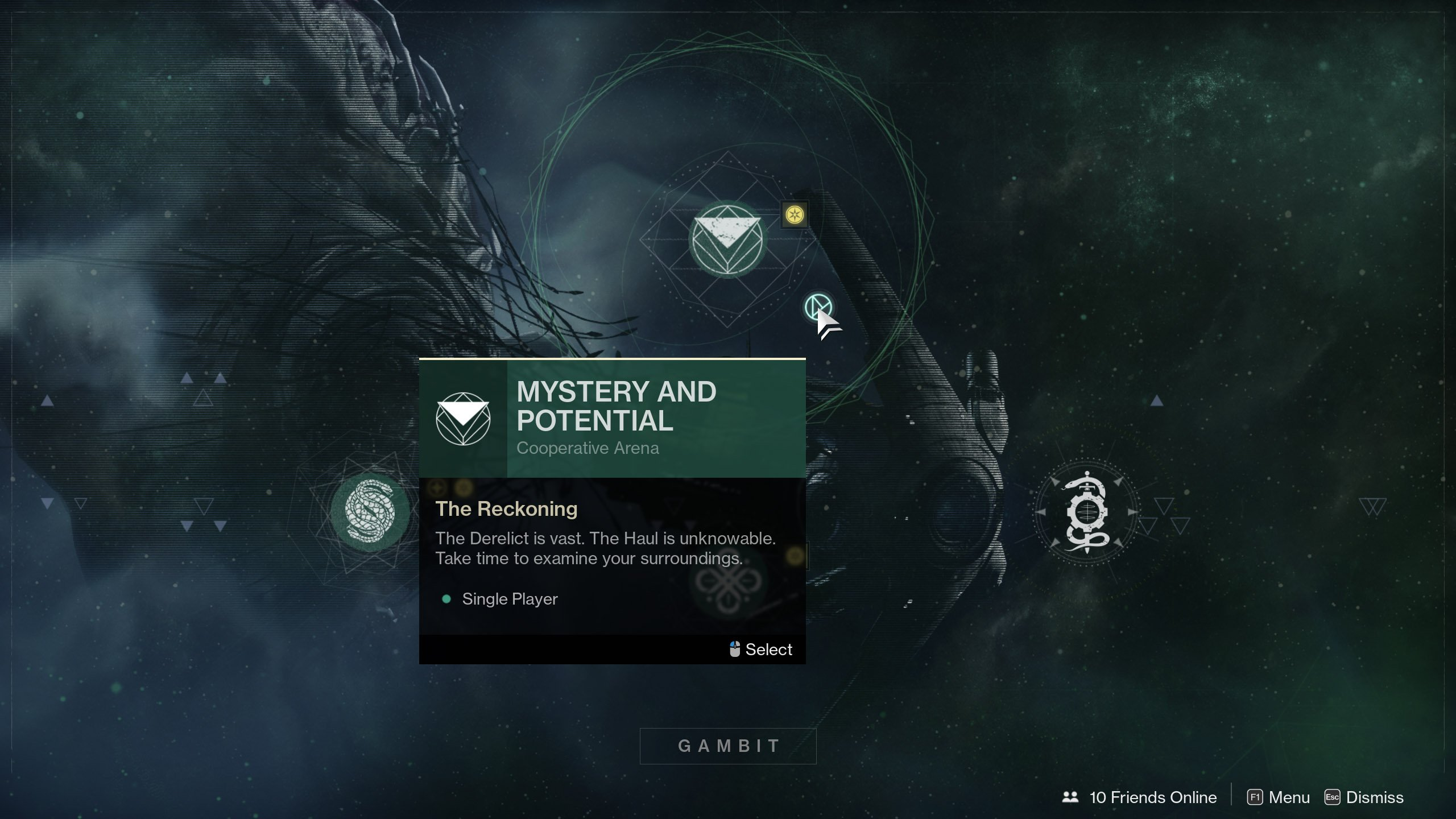 Mystery and Potential Mission in Destiny 2