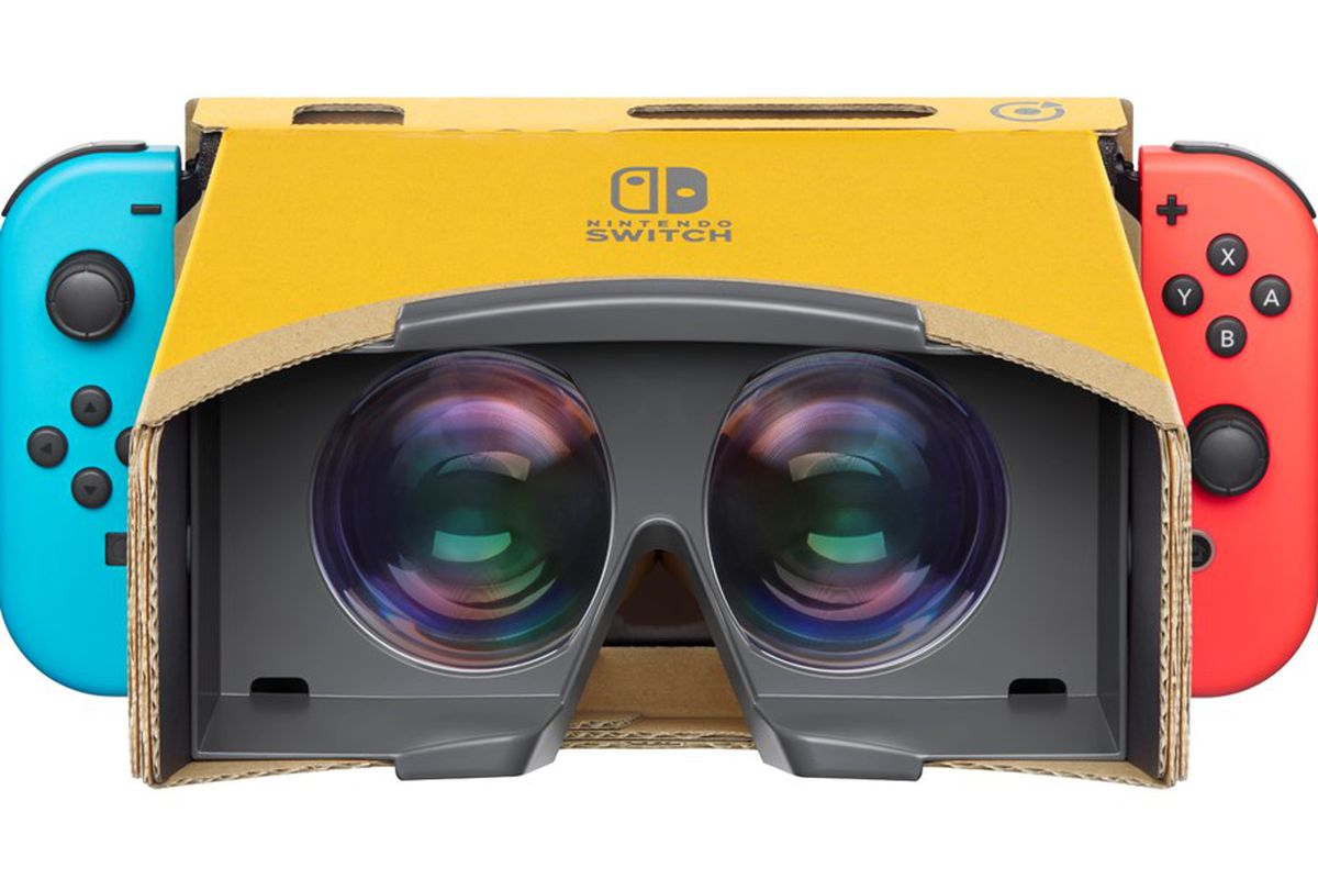 Details Released on Nintendo Labo: VR Kit, Pre-orders now Open