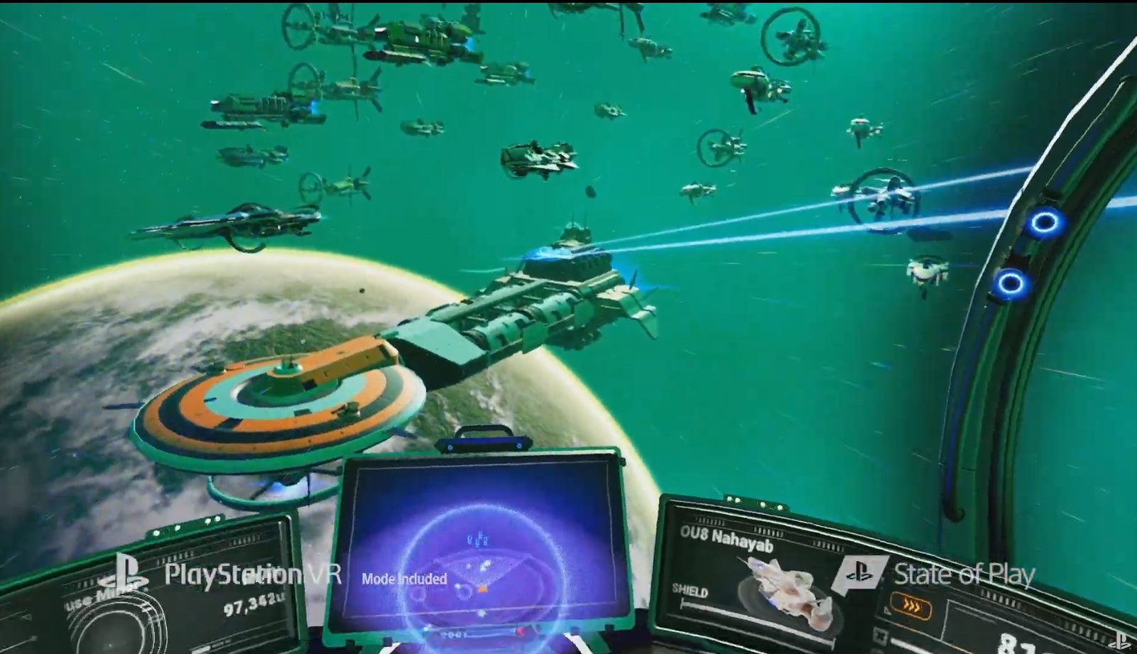 No Man's Sky VR PlayStation PS VR Sony state of play screenshot gameplay virtual reality
