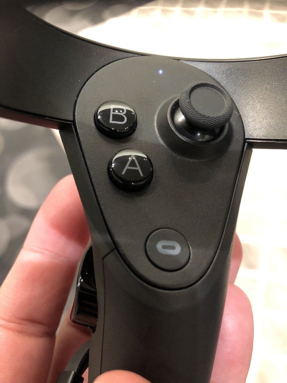 Rift S will support the newly redesigned Oculus Touch controllers.