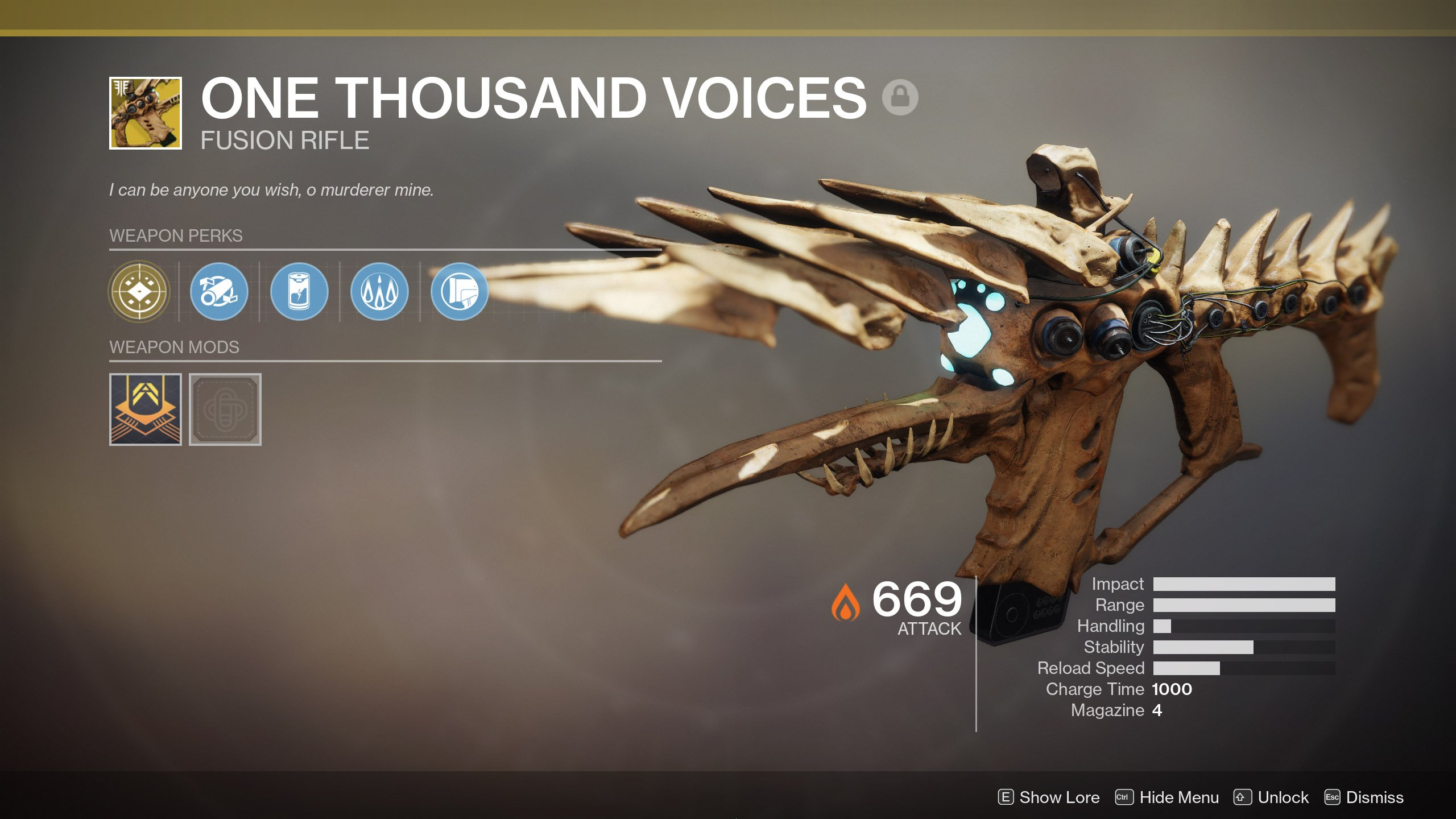 Destiny 2 Update 2.2.1 One Thousand Voices