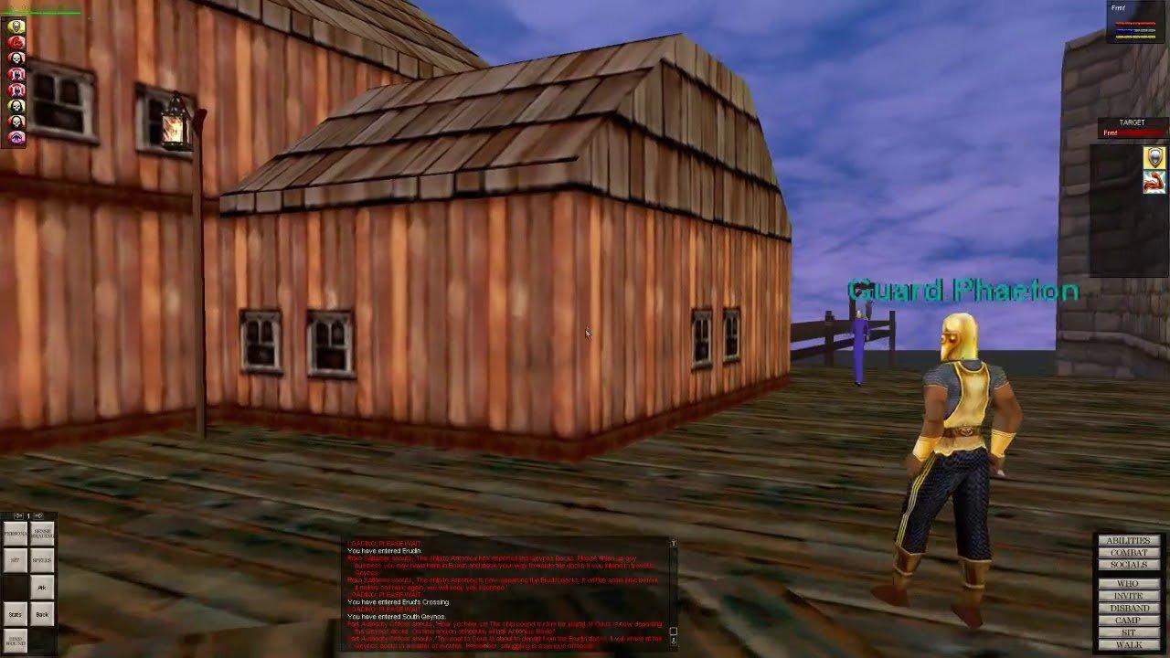 Qeynos docks.