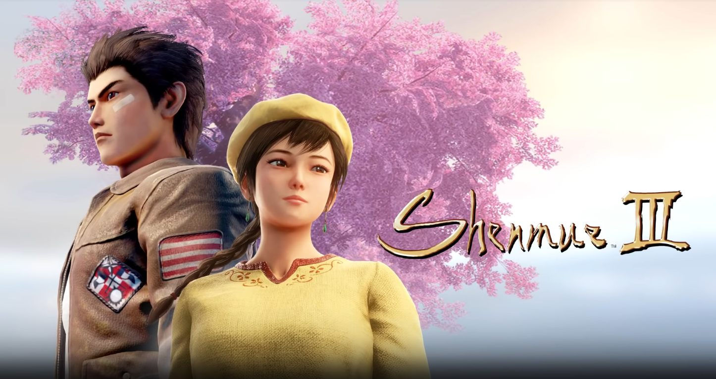 Shenmue 3 poster banner release august 2019 trailer new gameplay