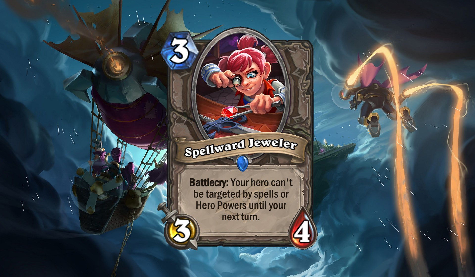 Hearthstone Spellward Jeweler
