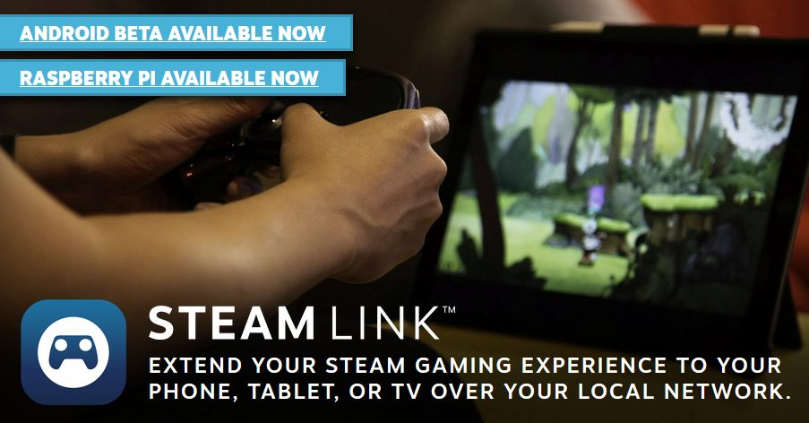 Steam Link Anywhere lets you take your library on the go