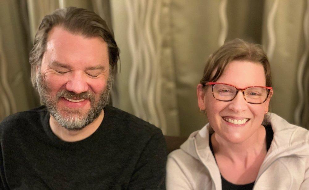Chet Faliszek and Kimberly Voll of Stray Bombay