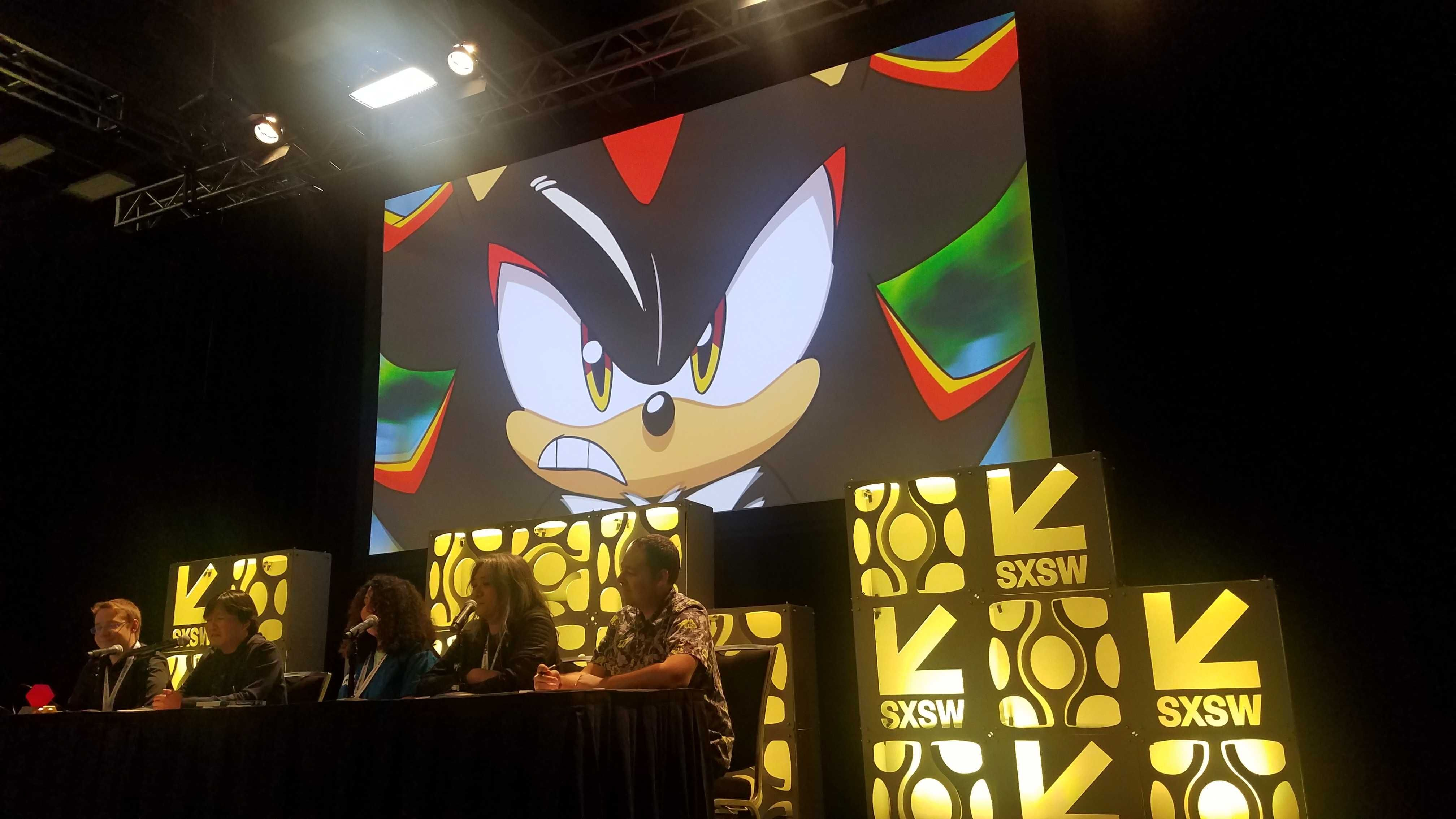 Team Sonic Racing Overdrive animated feature reveal SXSW 2019 gaming expo