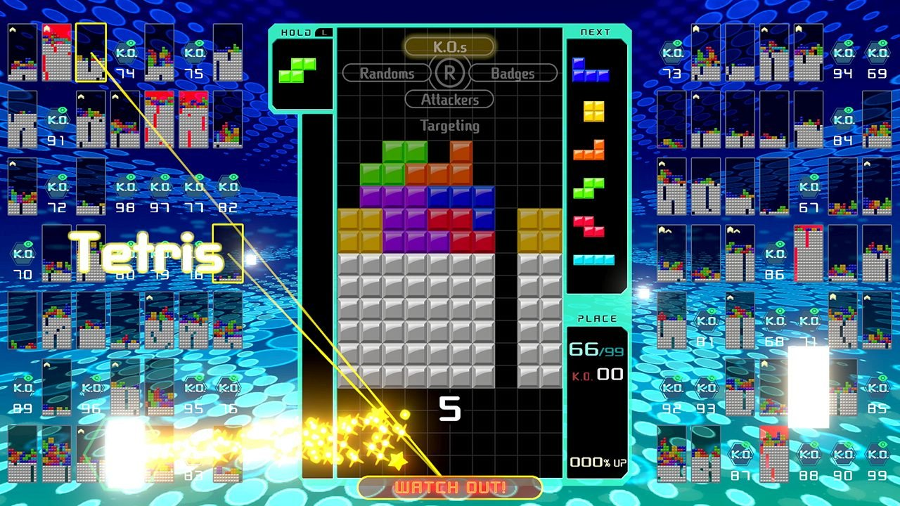 Tetris 99 CTWC Classic Tetris World Championship professionals tips pros gameplay