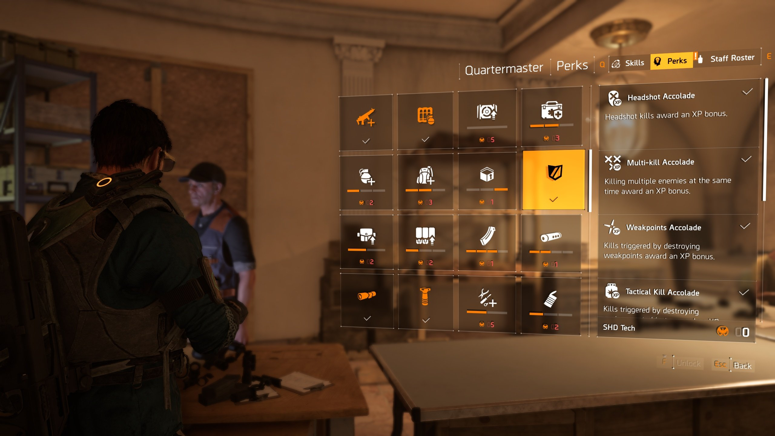 best perks to unlock in The Division 2 - perk list