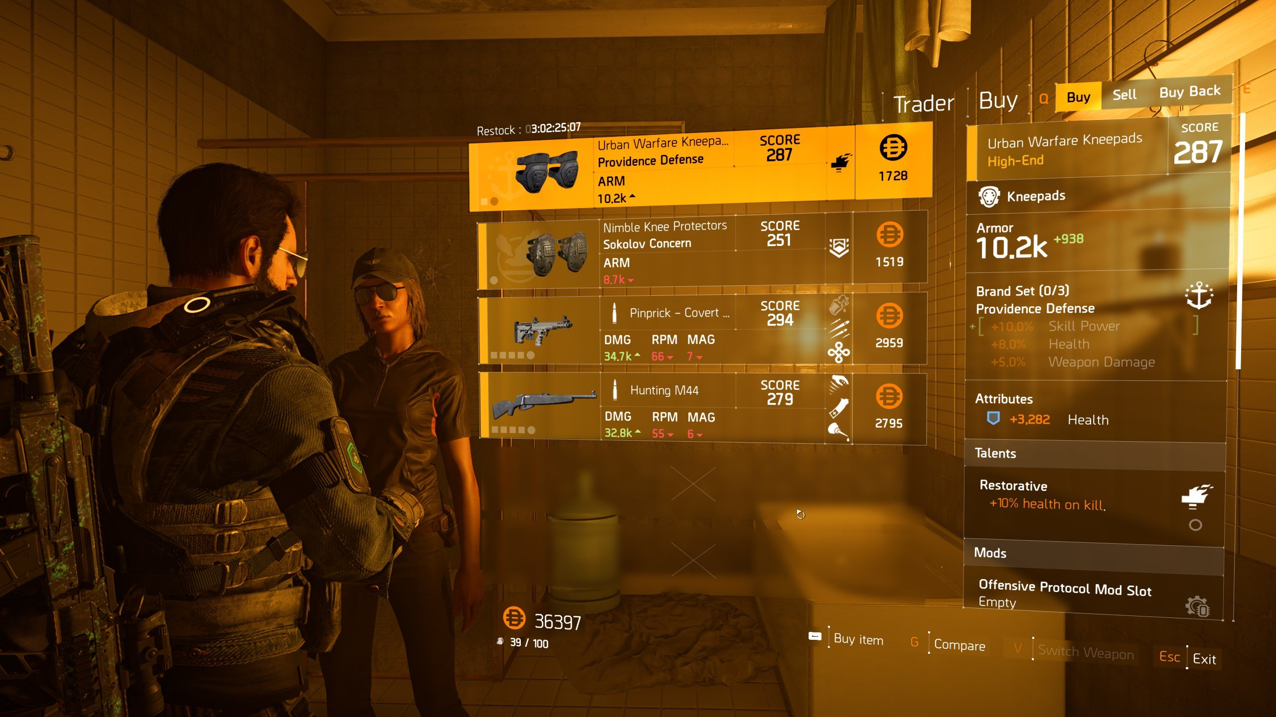 find the secret vendor in The Division 2 - items that Cassie Mendoza sells