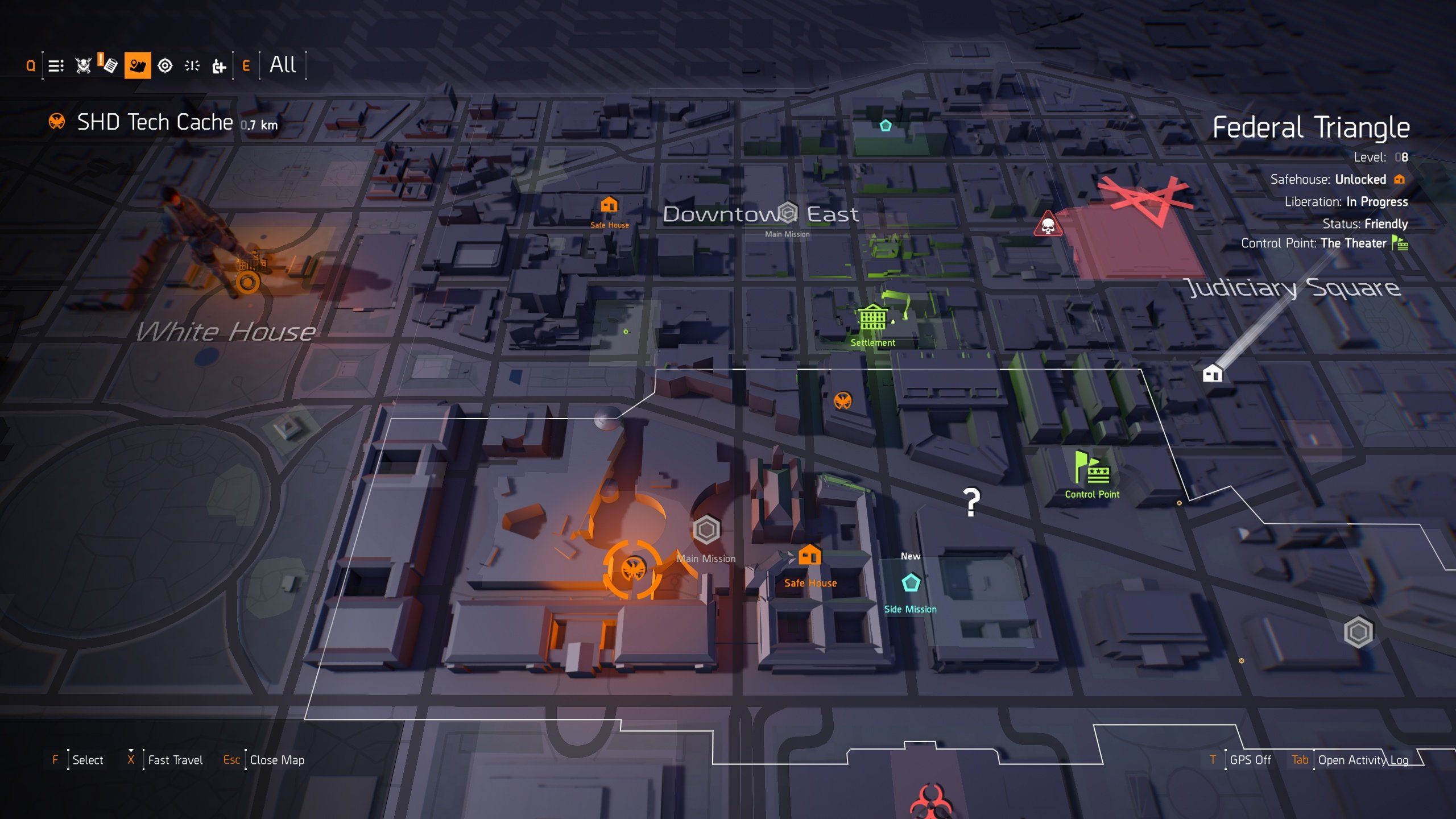 best perks to unlock in The Division 2 - SHD Tech on map