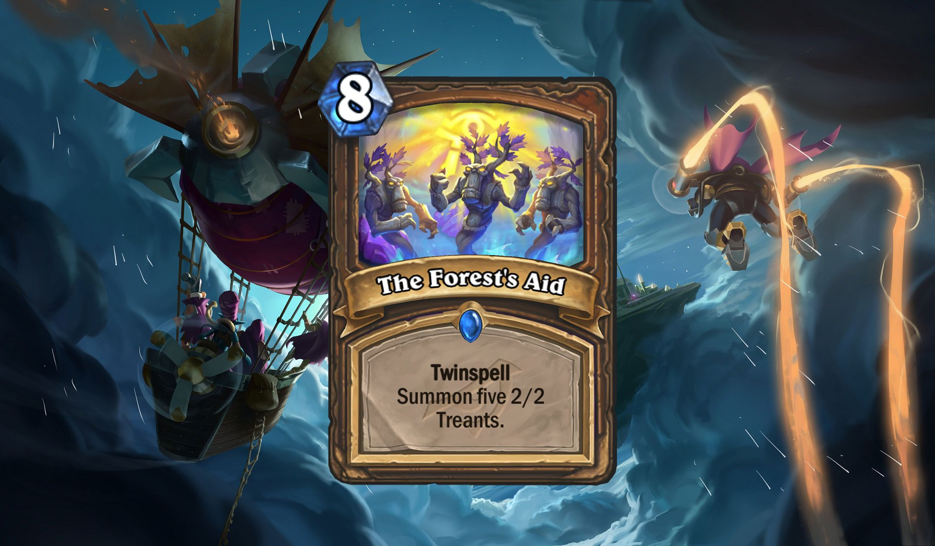 Hearthstone The Forest's Aid