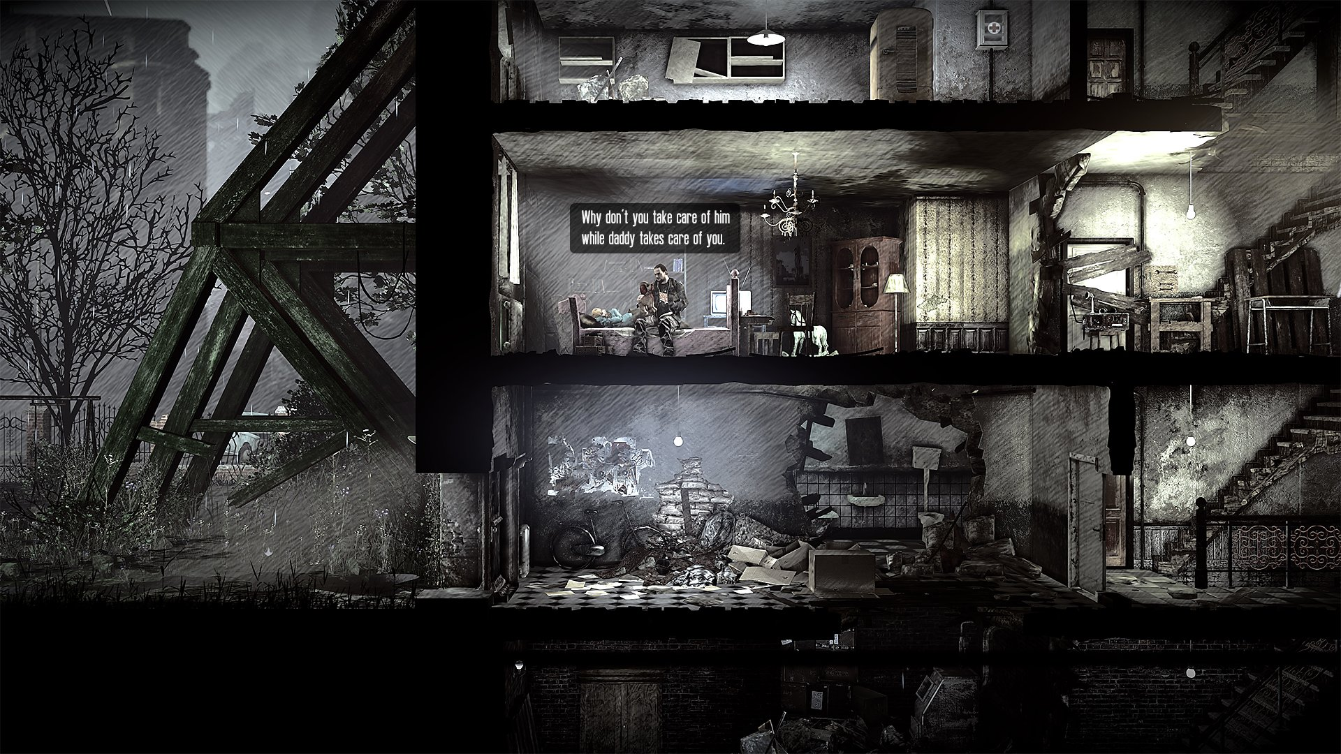 This War of Mine: Stories gameplay