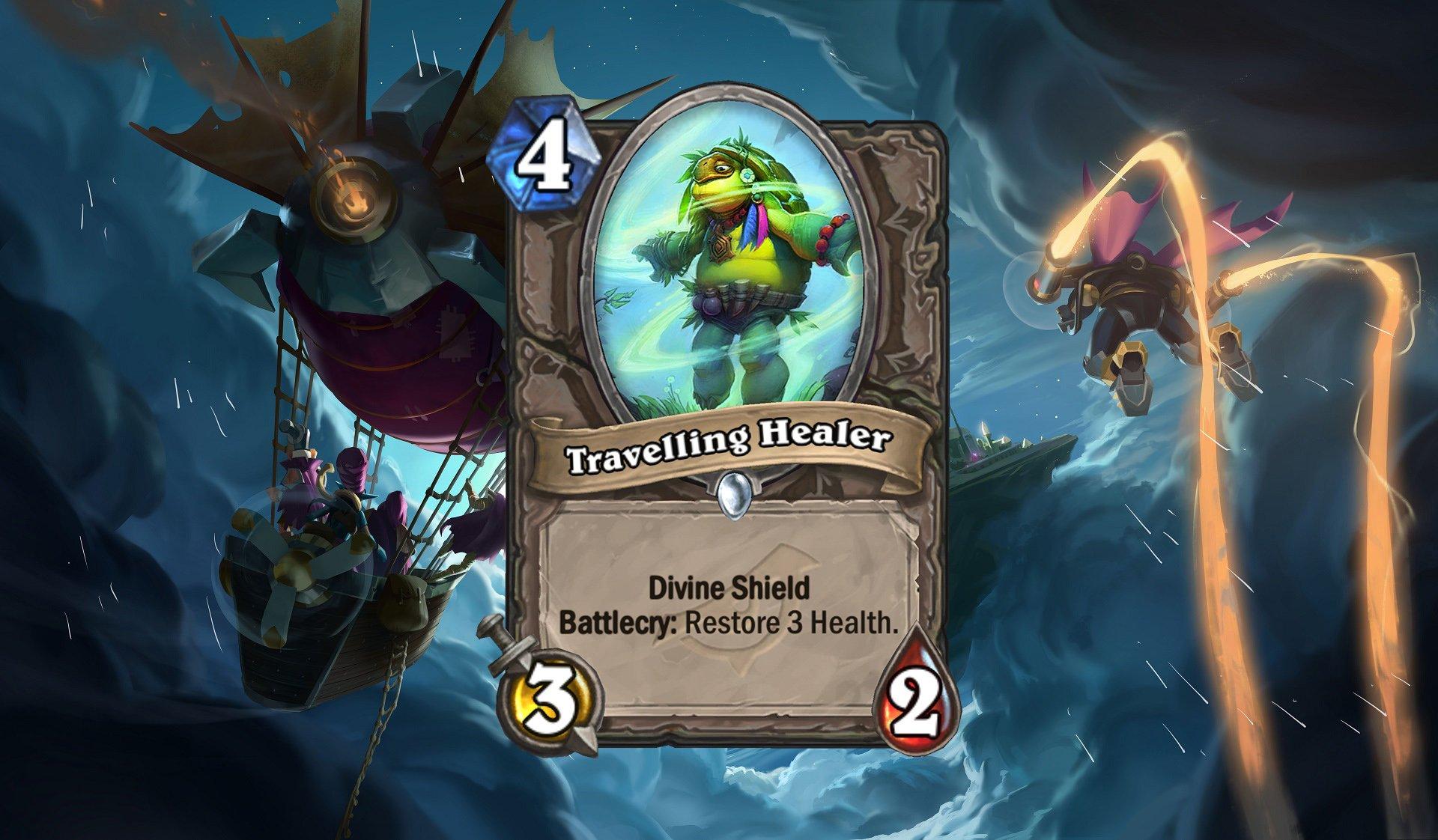 Hearthstone - Travelling Healer