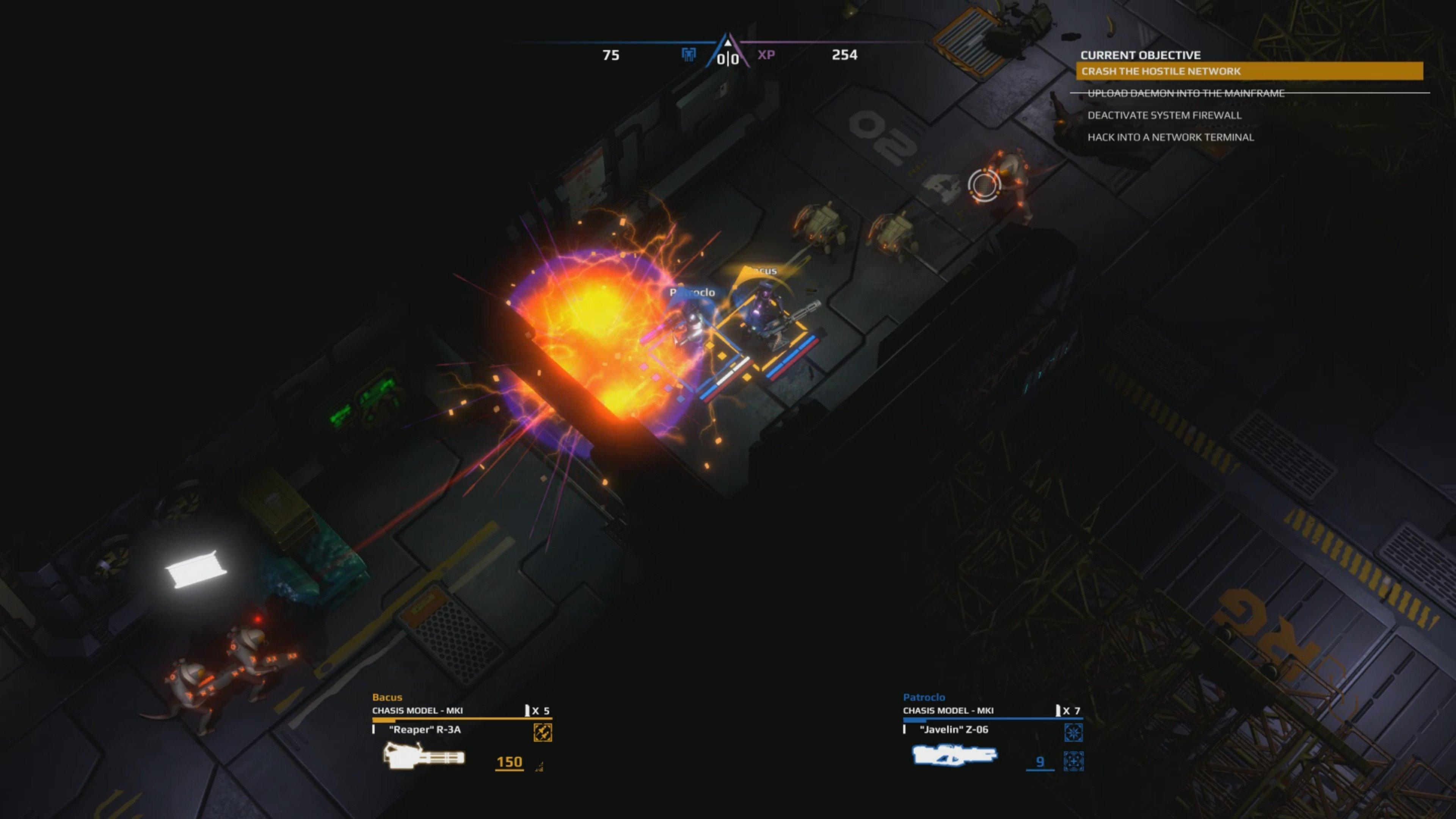 trident's wake screenshot fire fight