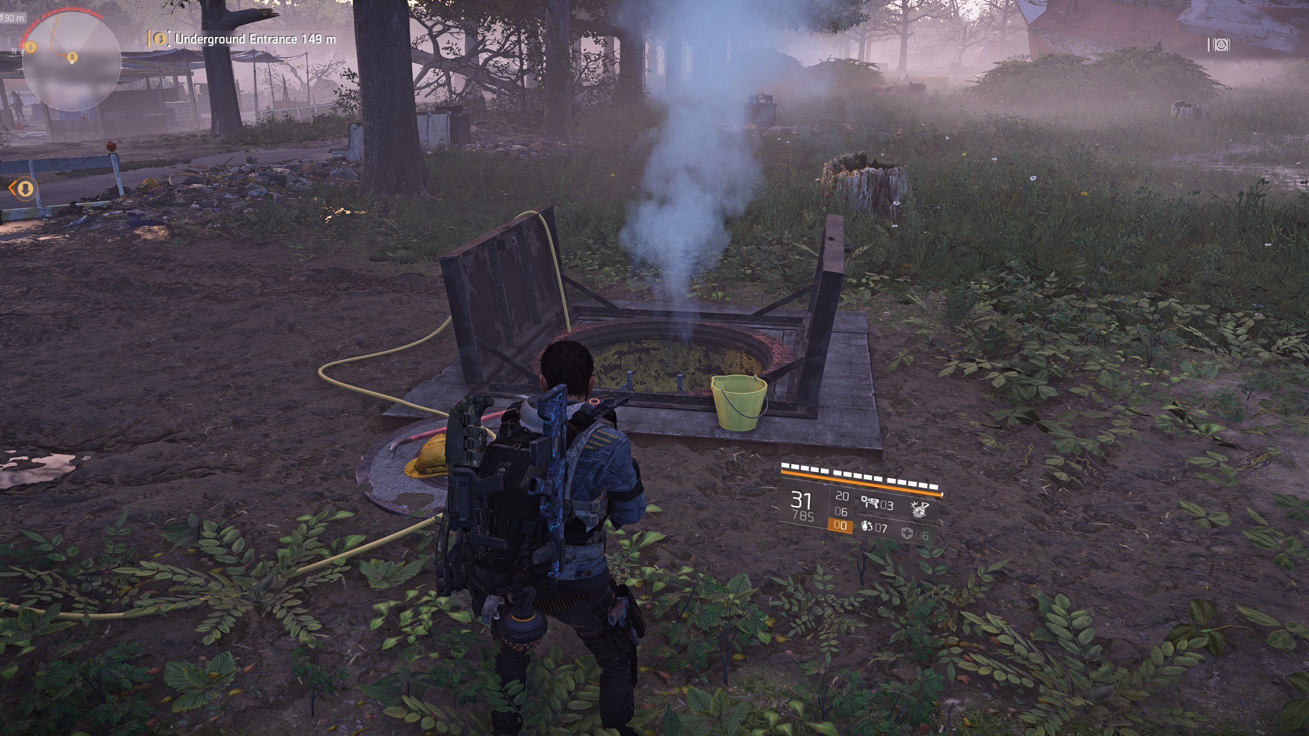 How to get Faction Cache Keys in The Division 2 - underground entrances