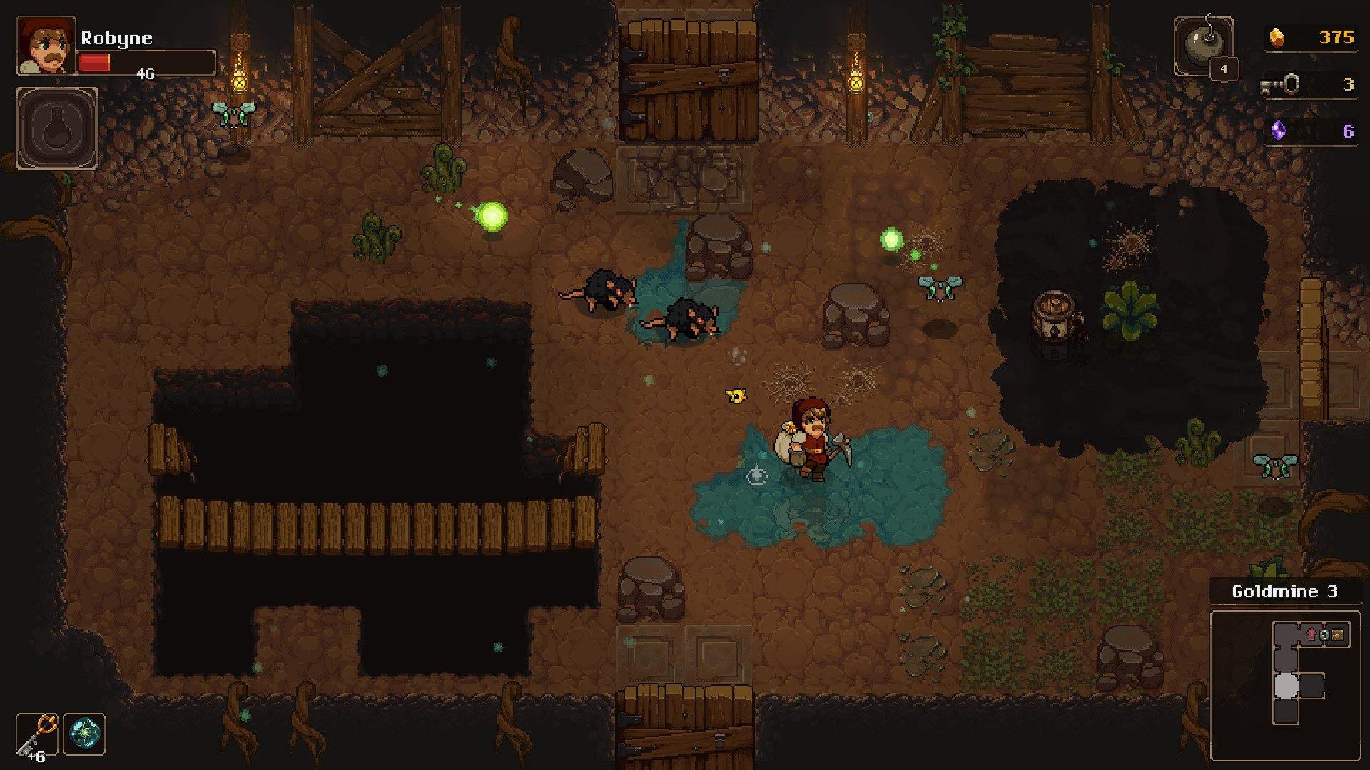UnderMine GDC 2019 Thorium dev interview gameplay screenshot