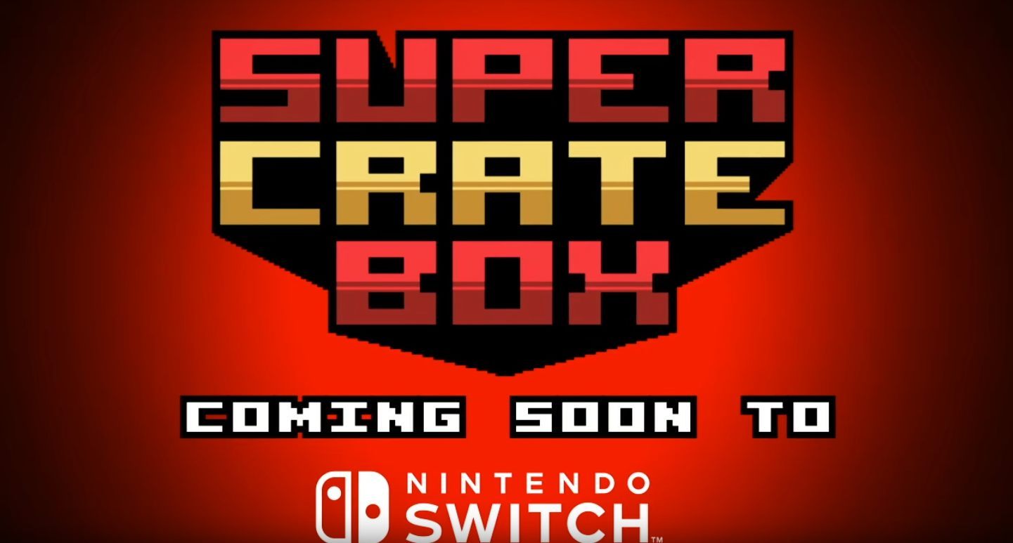 Vlambeer Super Crate Box Nintendo Switch Nuclear Throne Arcade Ultrabugs
