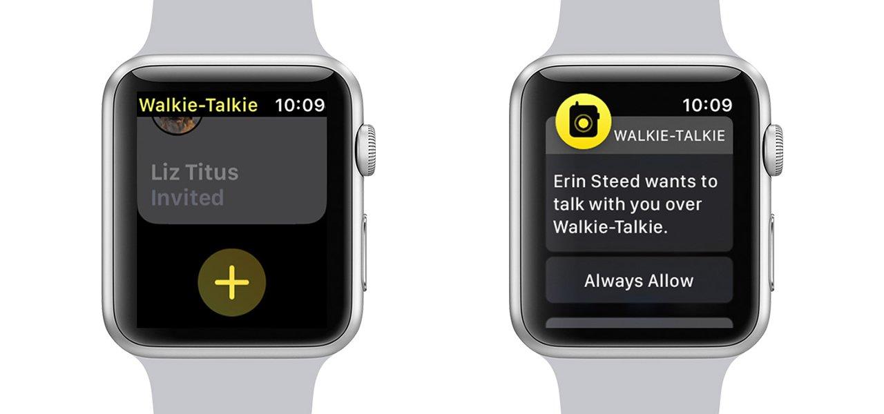 how to add friends in Walkie-Talkie Apple Watch