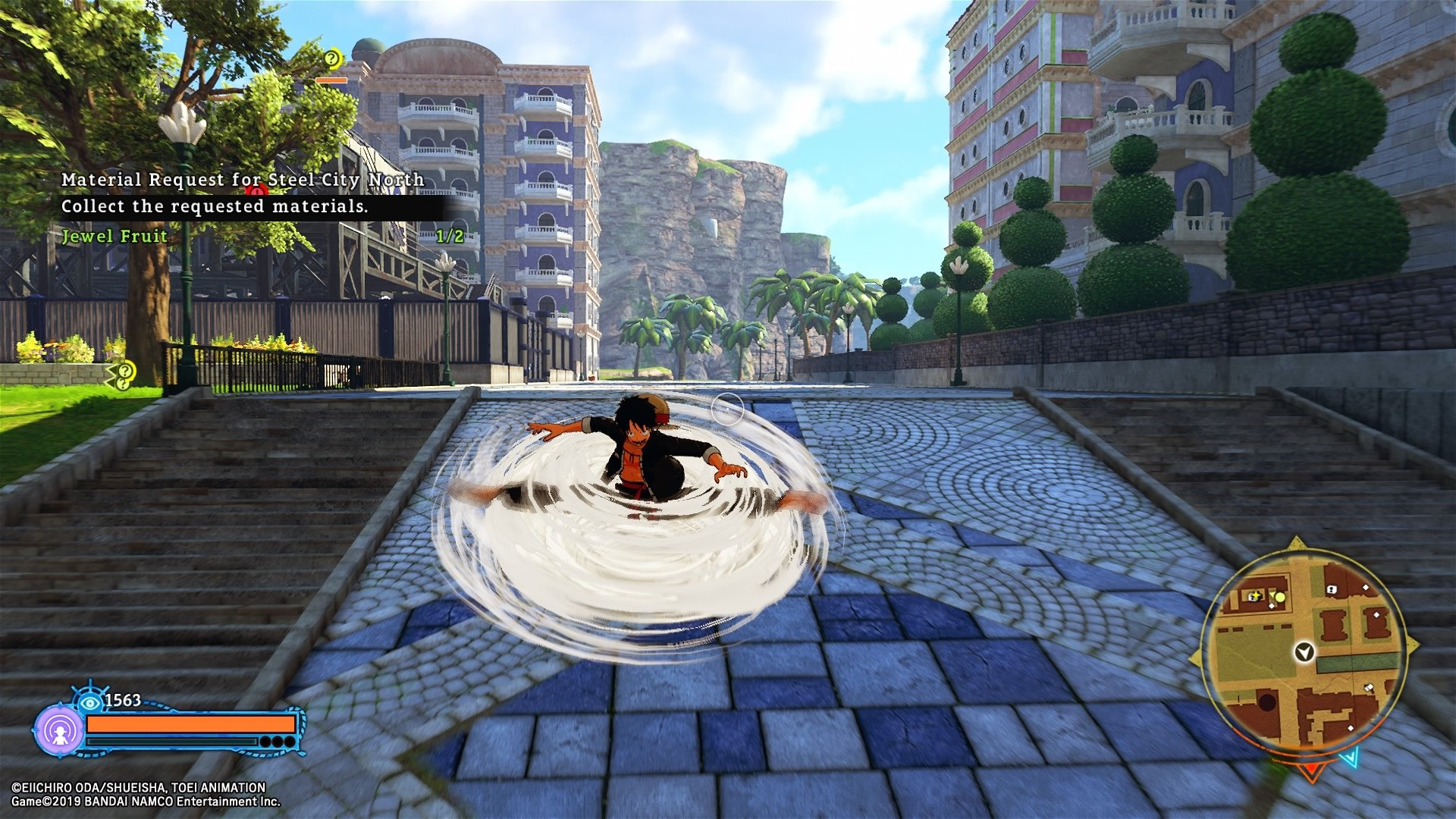 One Piece World Seeker Shacknews review screenshot 03