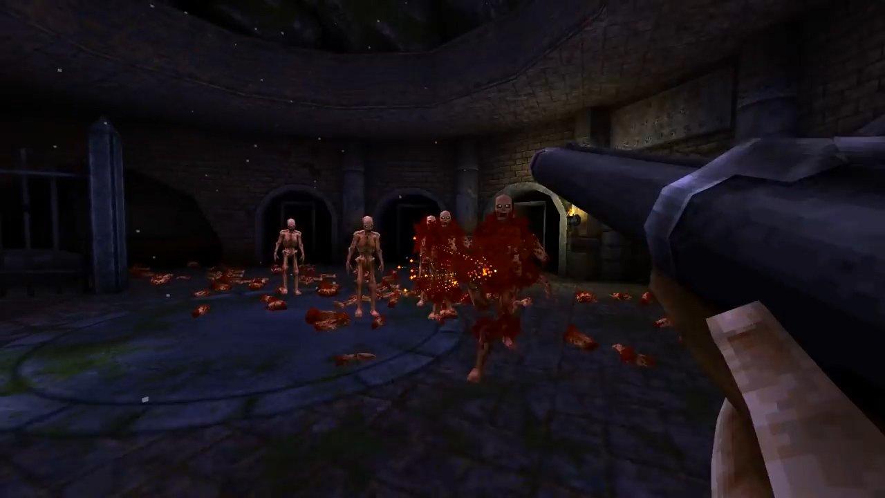 Wrath: Aeon of Ruin reveal shotgun blasting enemies