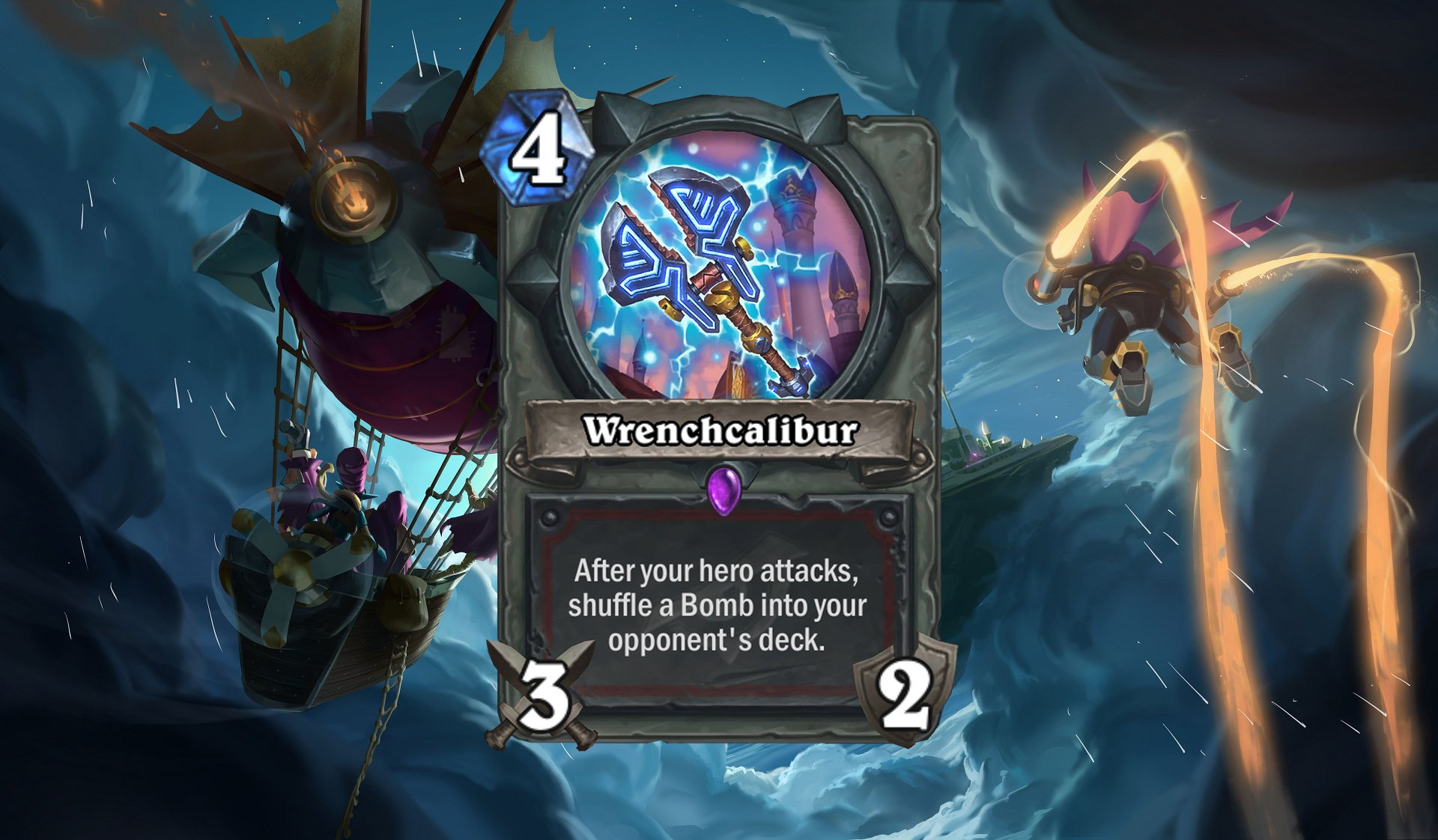 Hearthstone - Wrenchcalibur