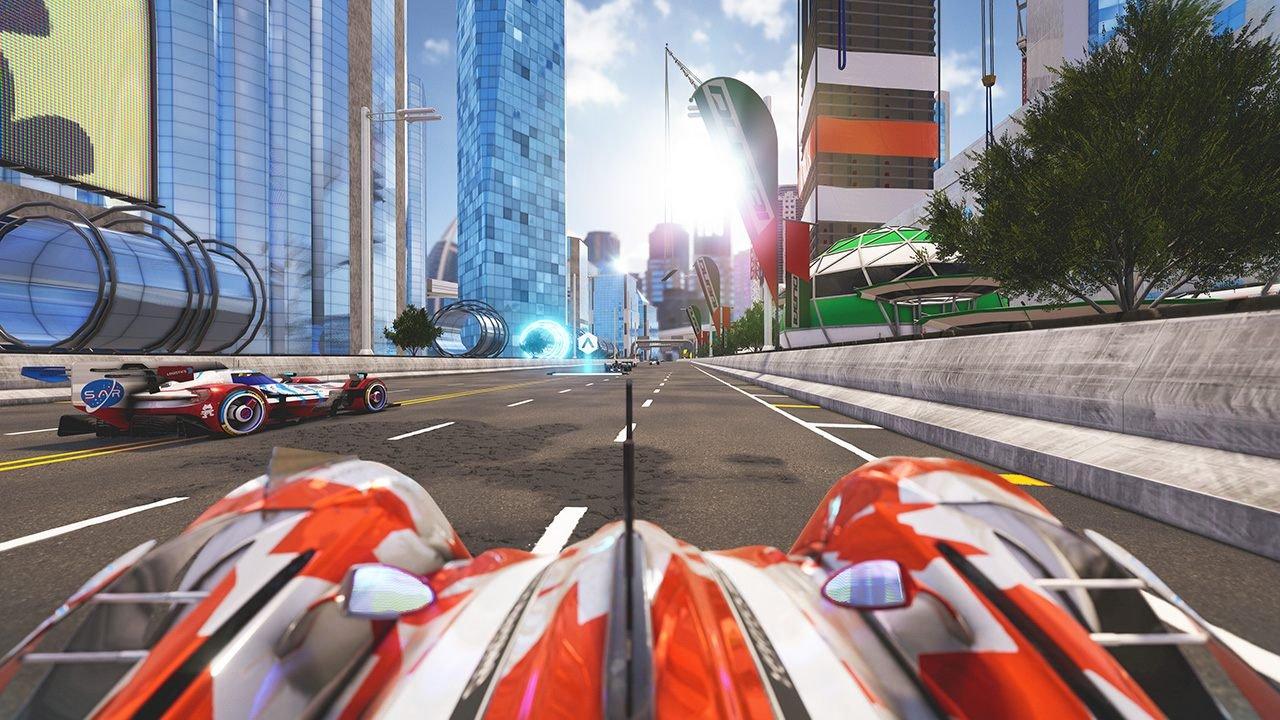 Xenon Racer gameplay screenshot launch trailer nintendo switch 2019