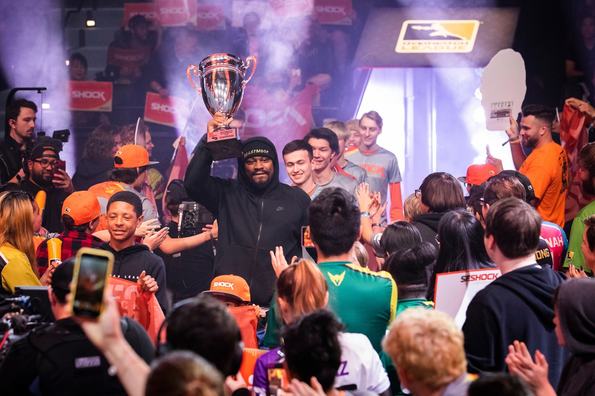 Overwatch League - Marshawn Lynch