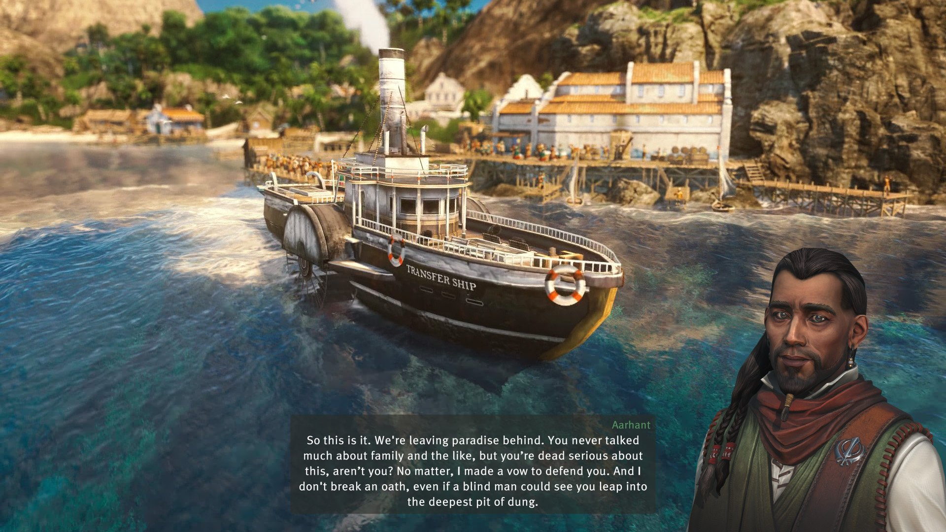 The campaign of Anno 1800 takes you on a story of retribution, as you fight to clear your father's name and take down those who framed him.
