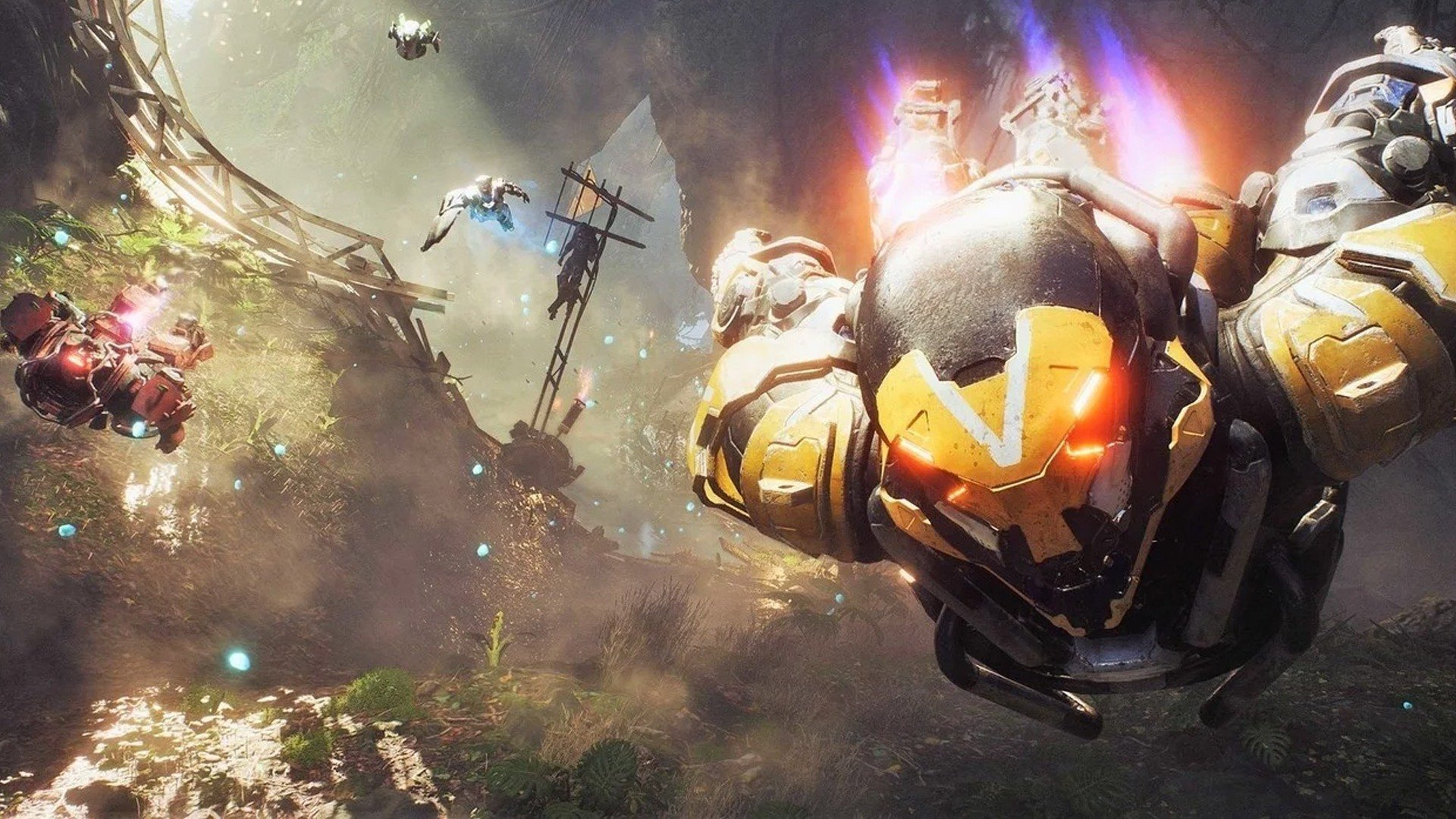 Anthem 1.1.0 update patch notes adds The Sunken Cell
