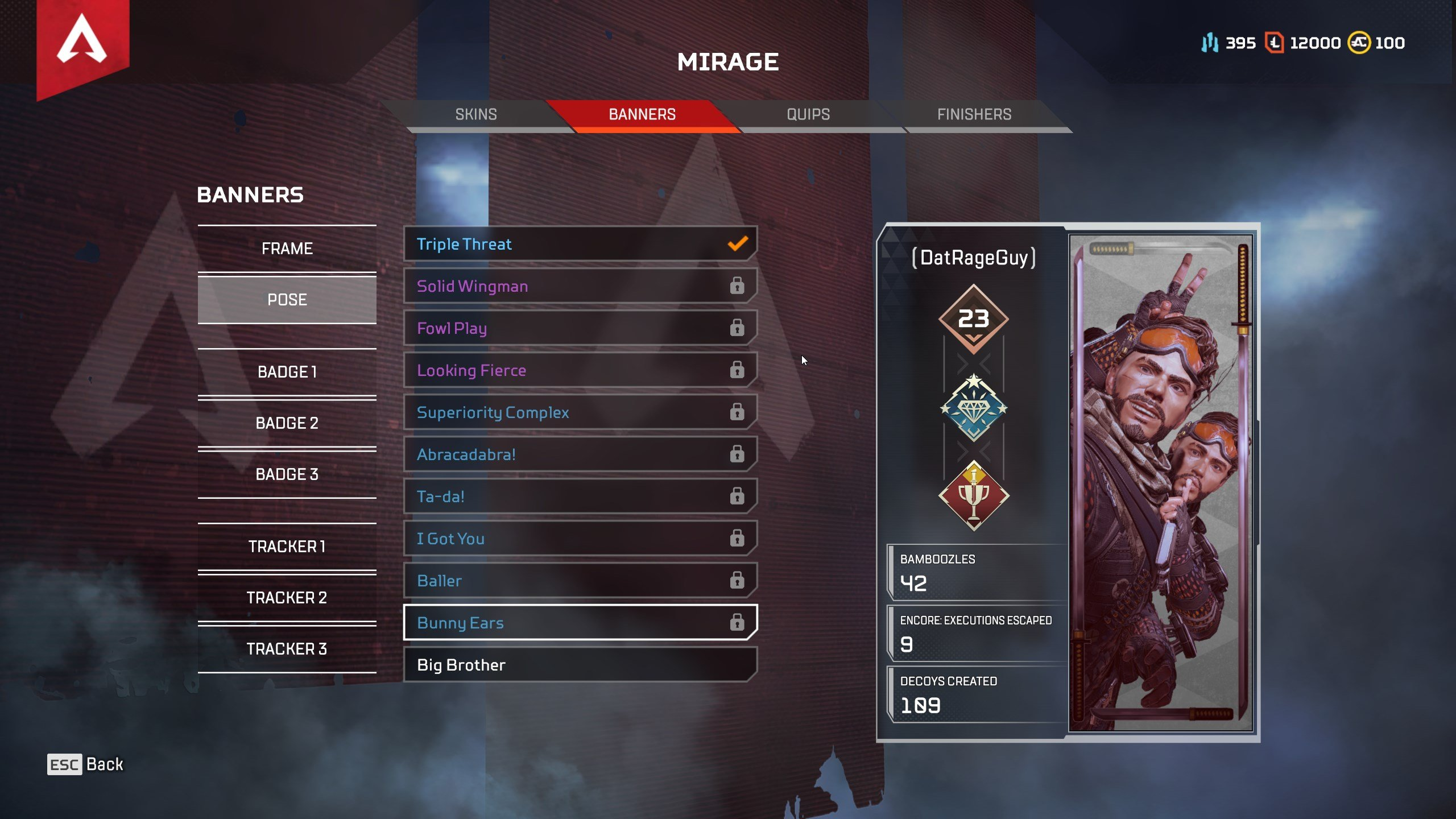 how to track your stats in Apex Legends