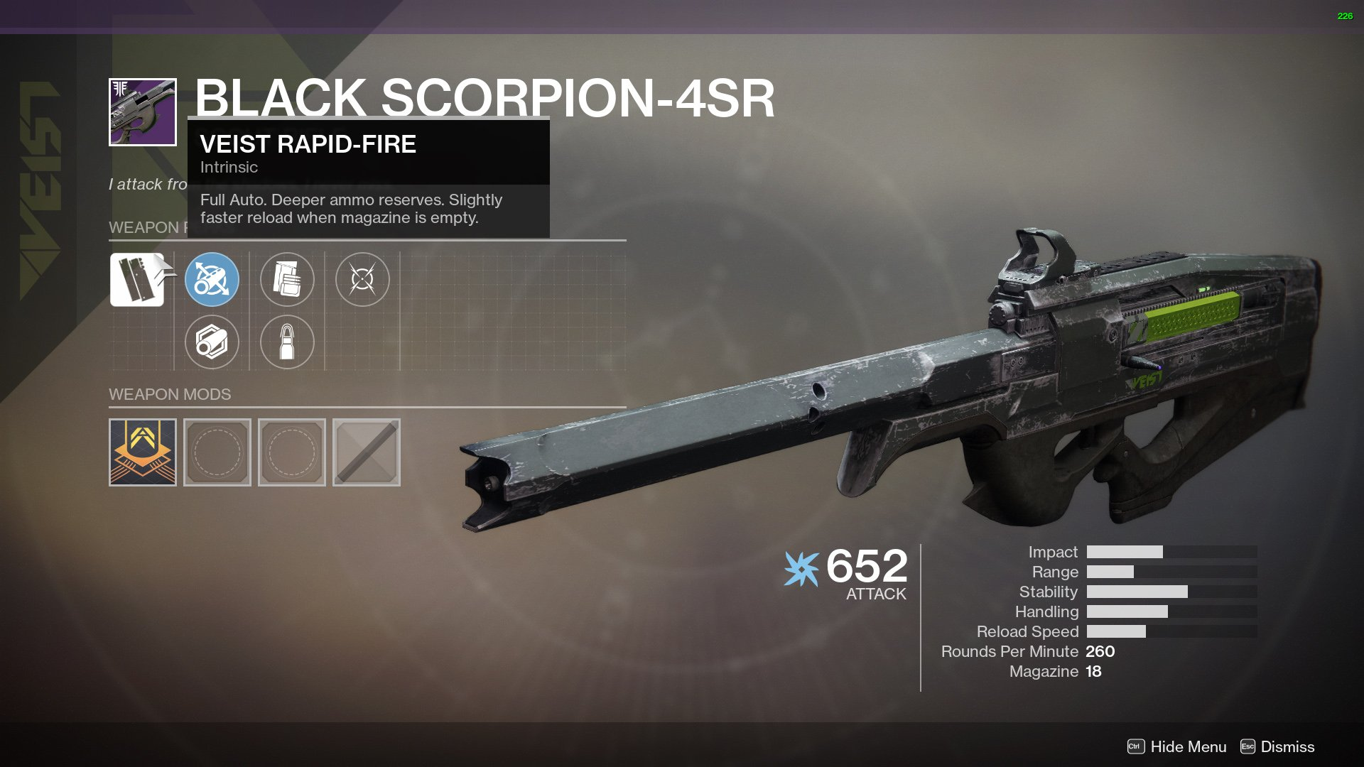 Black Scorpion-4SR