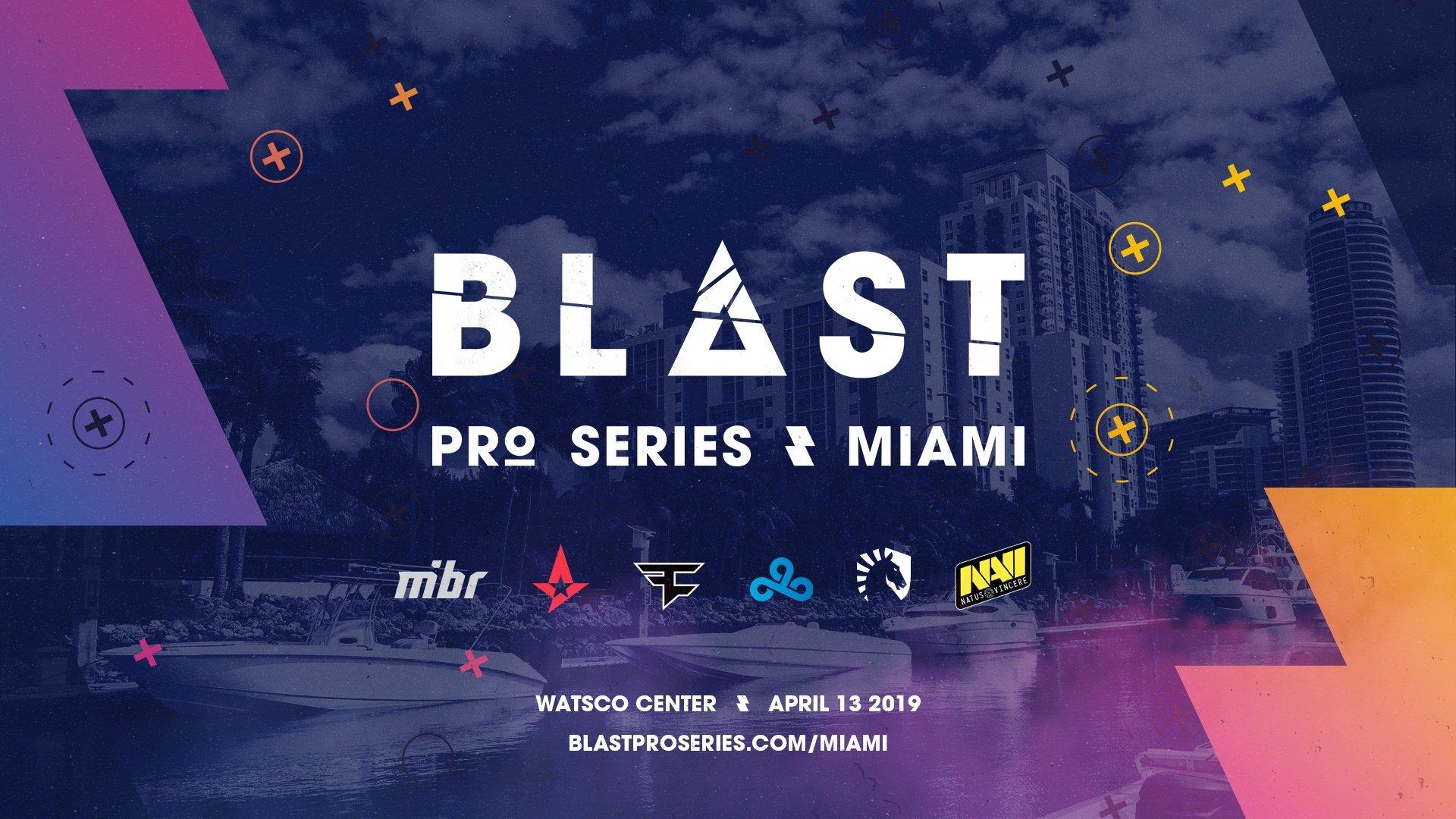 BLAST Pro Series Miami