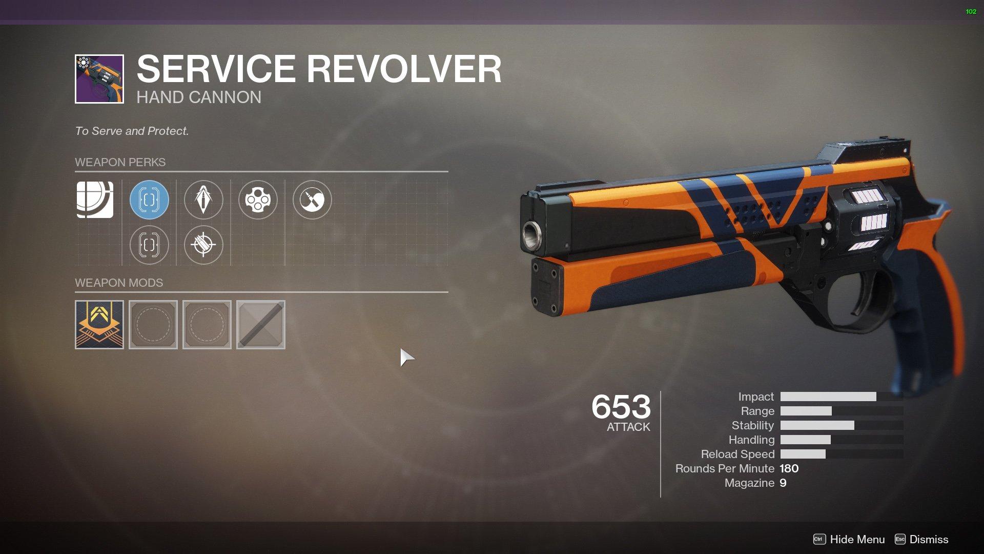 Service Revolver