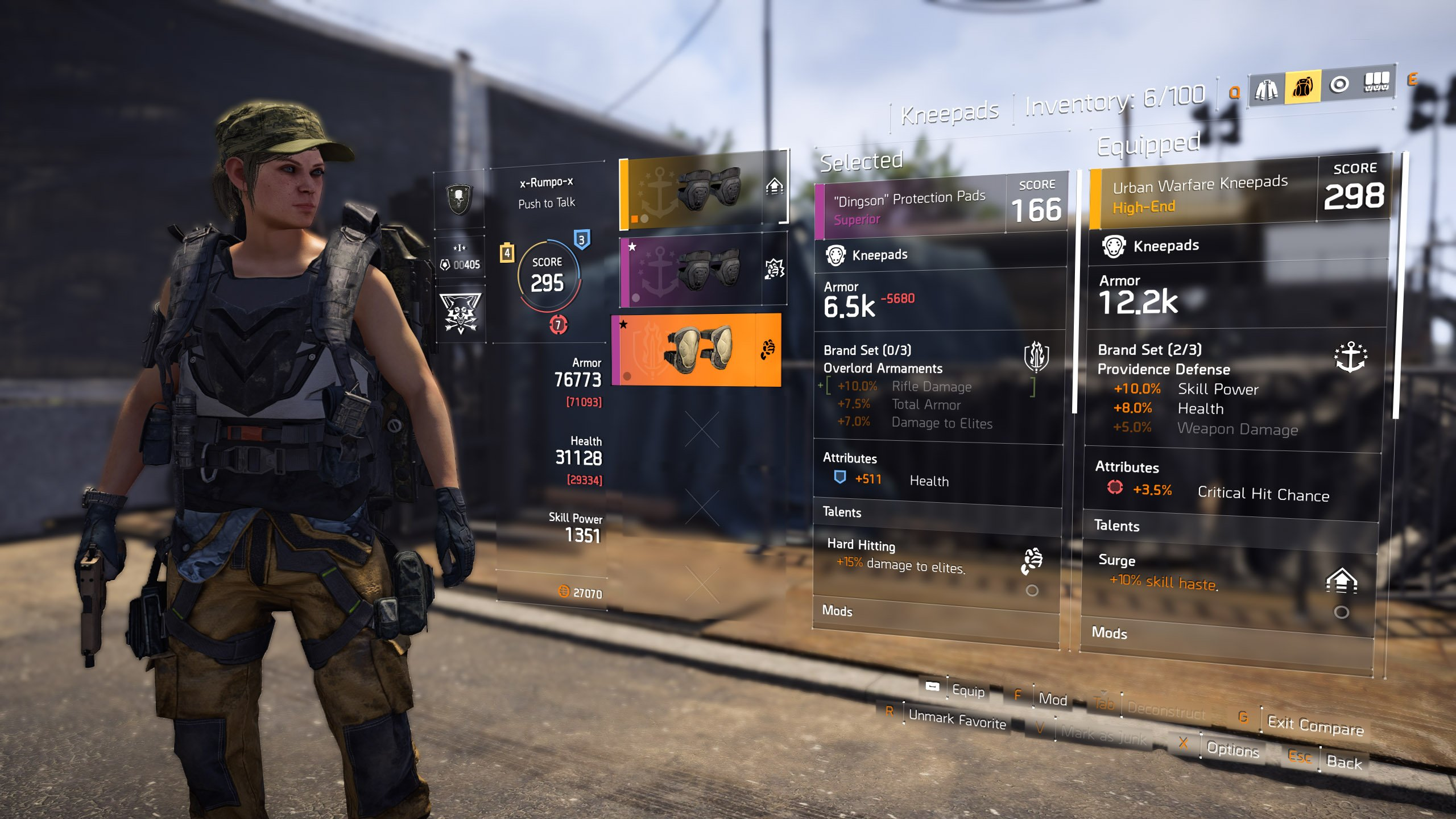 The Division 2 Loot System
