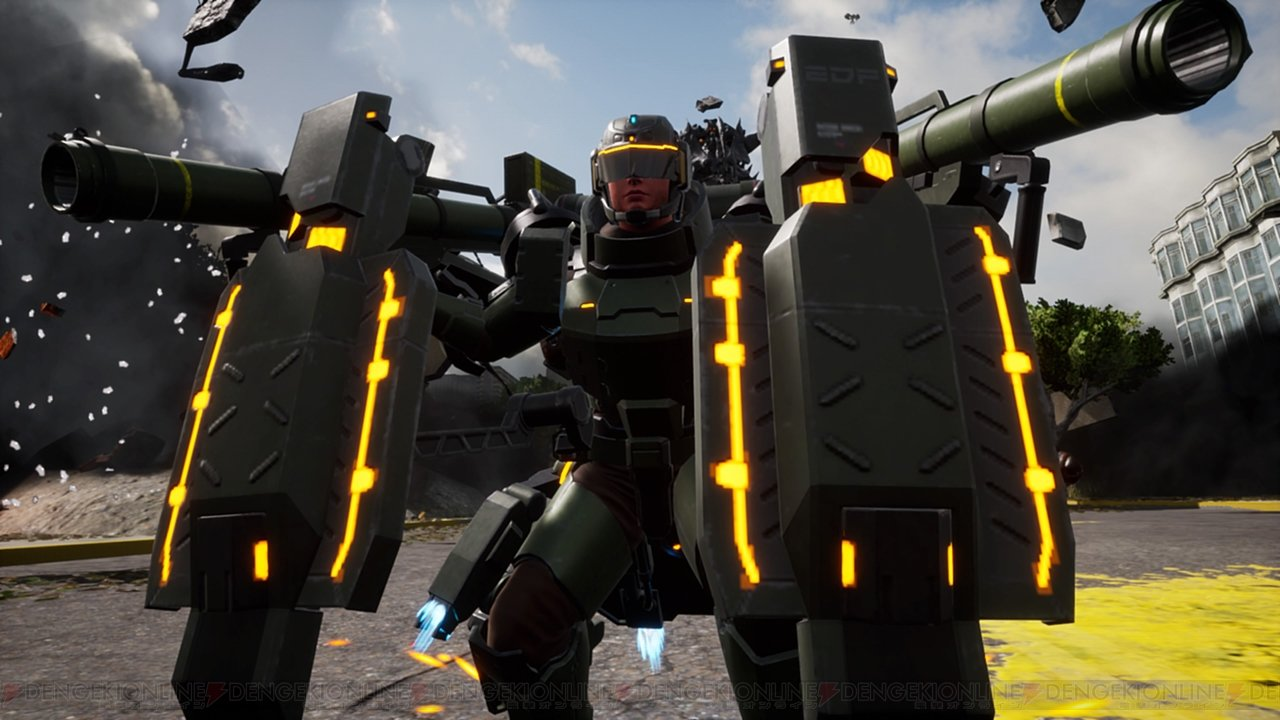 Heavy Striker class in Earth Defense Force: Iron Rain