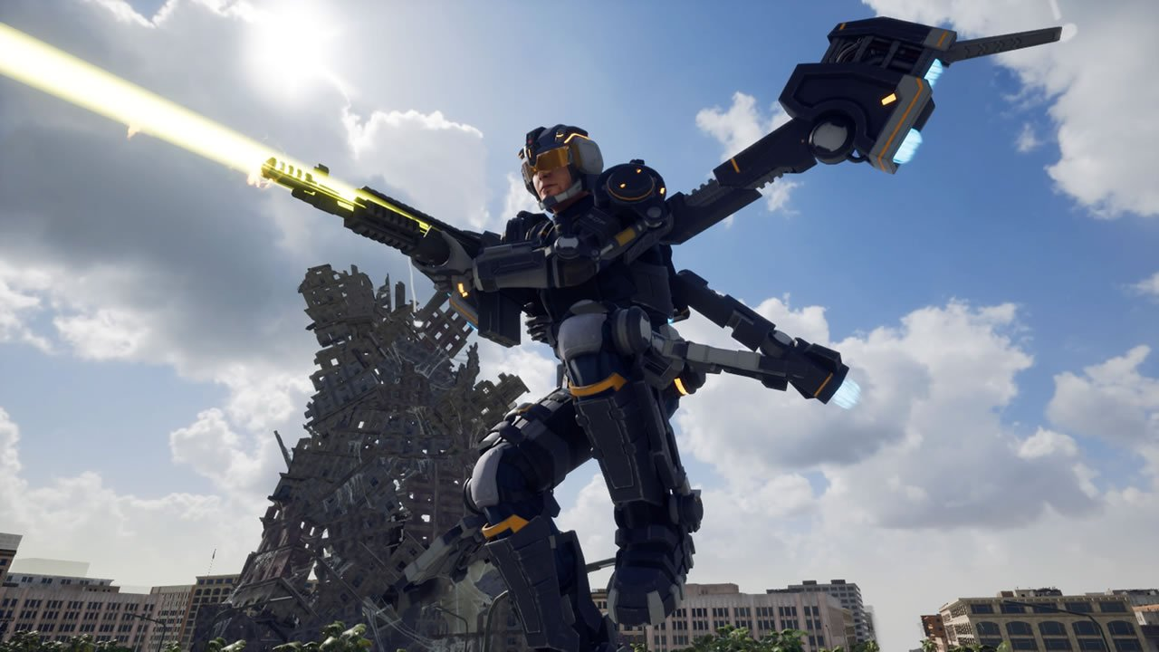 Jet Lifter class in Earth Defense Force: Iron Rain