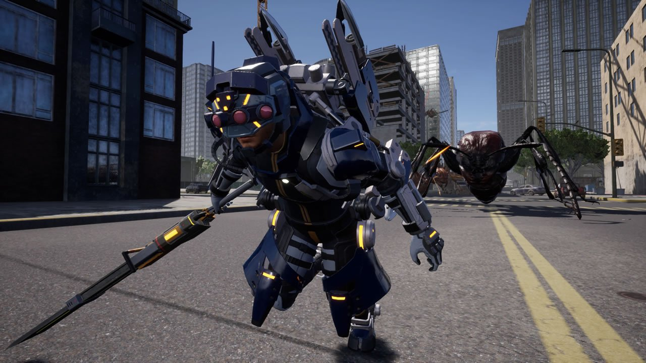 Prowl Rider class in Earth Defense Force: Iron Rain