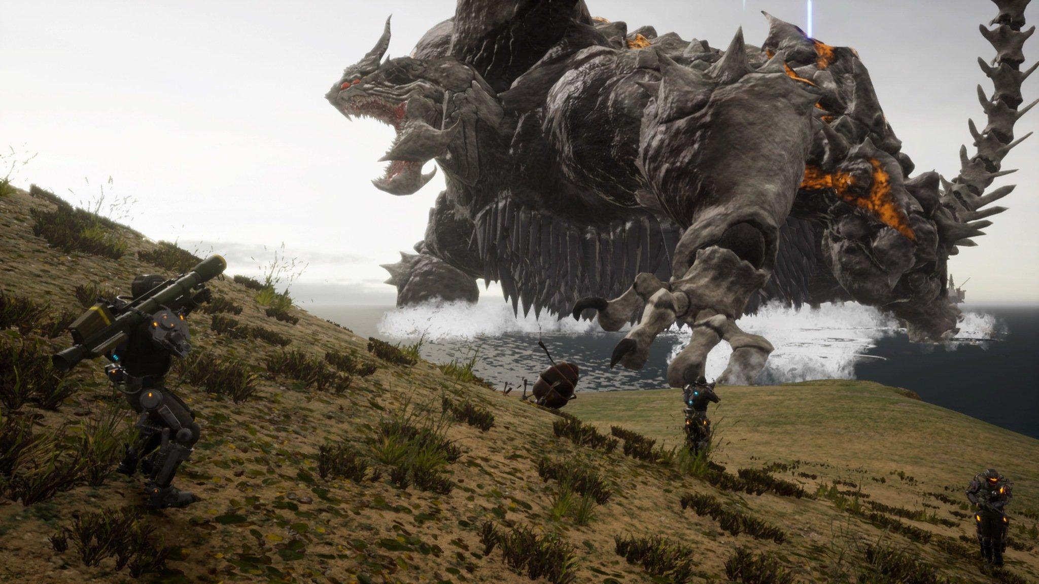 Earth Defense Force Iron Rain Screenshot 03