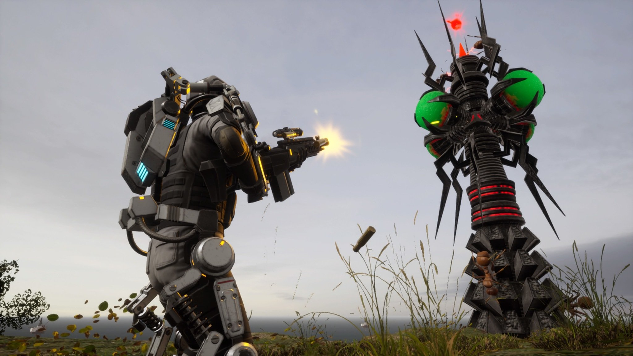 Earth Defense Force Iron Rain Screenshot 01
