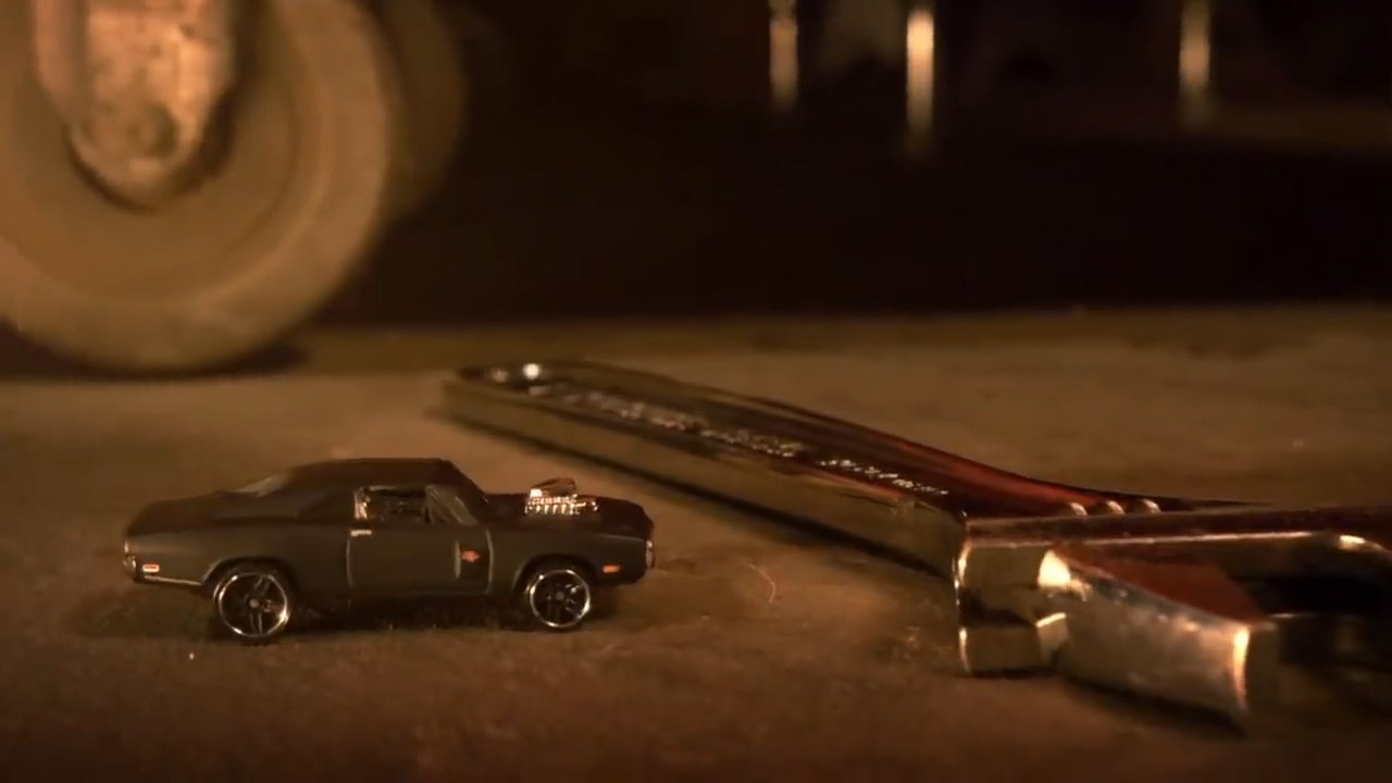 Dominic Torretto's Dodge Charge die-cast hot wheels