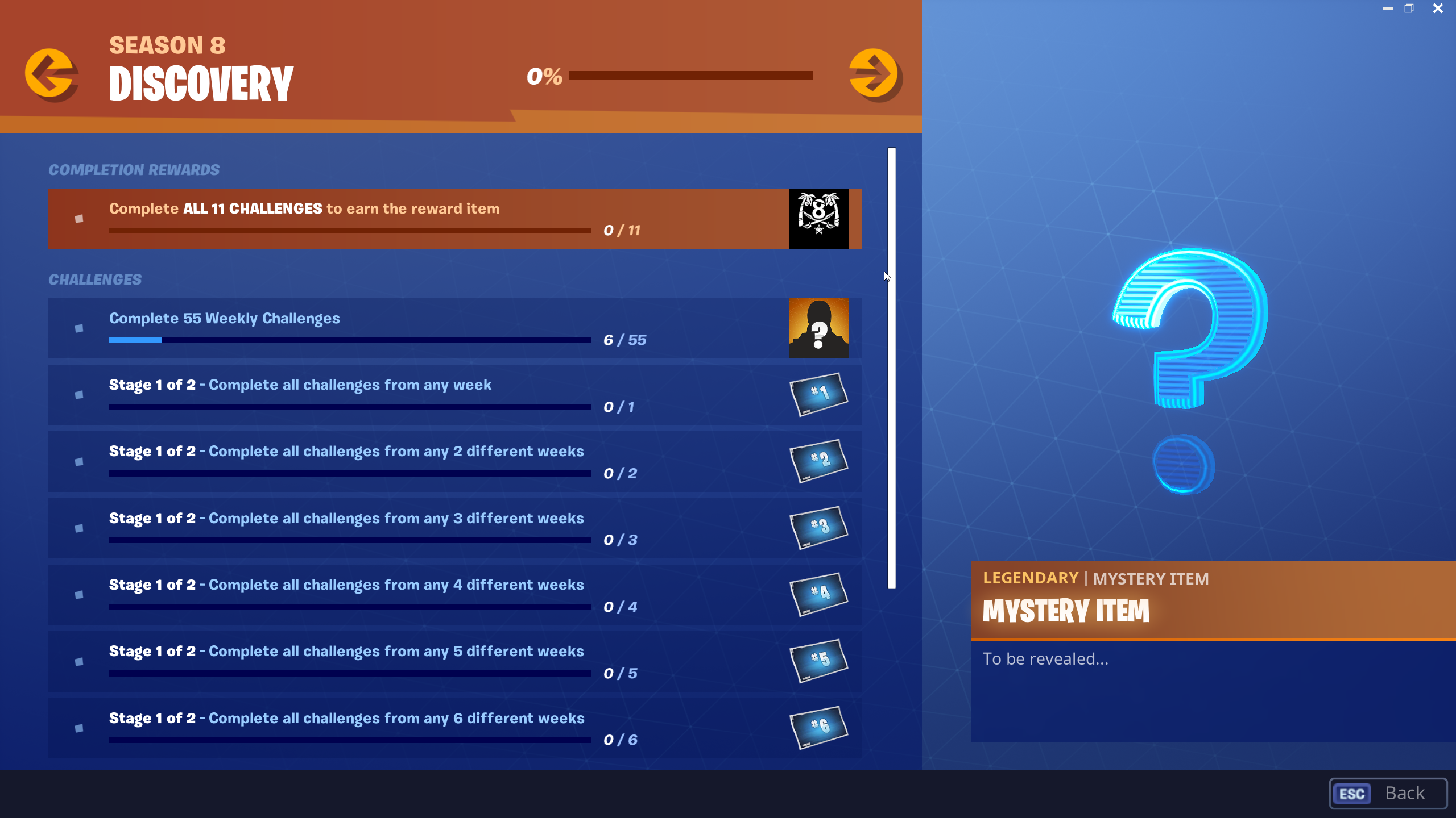 how to get Ruin Discovery skin in Fortnite - challenges