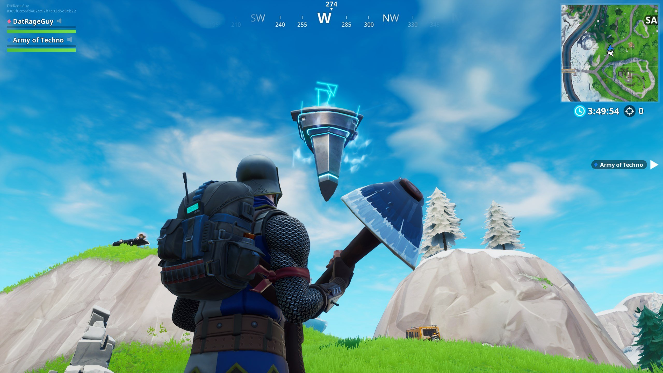 Fortnite Loot Lake in-game event, Rune #1