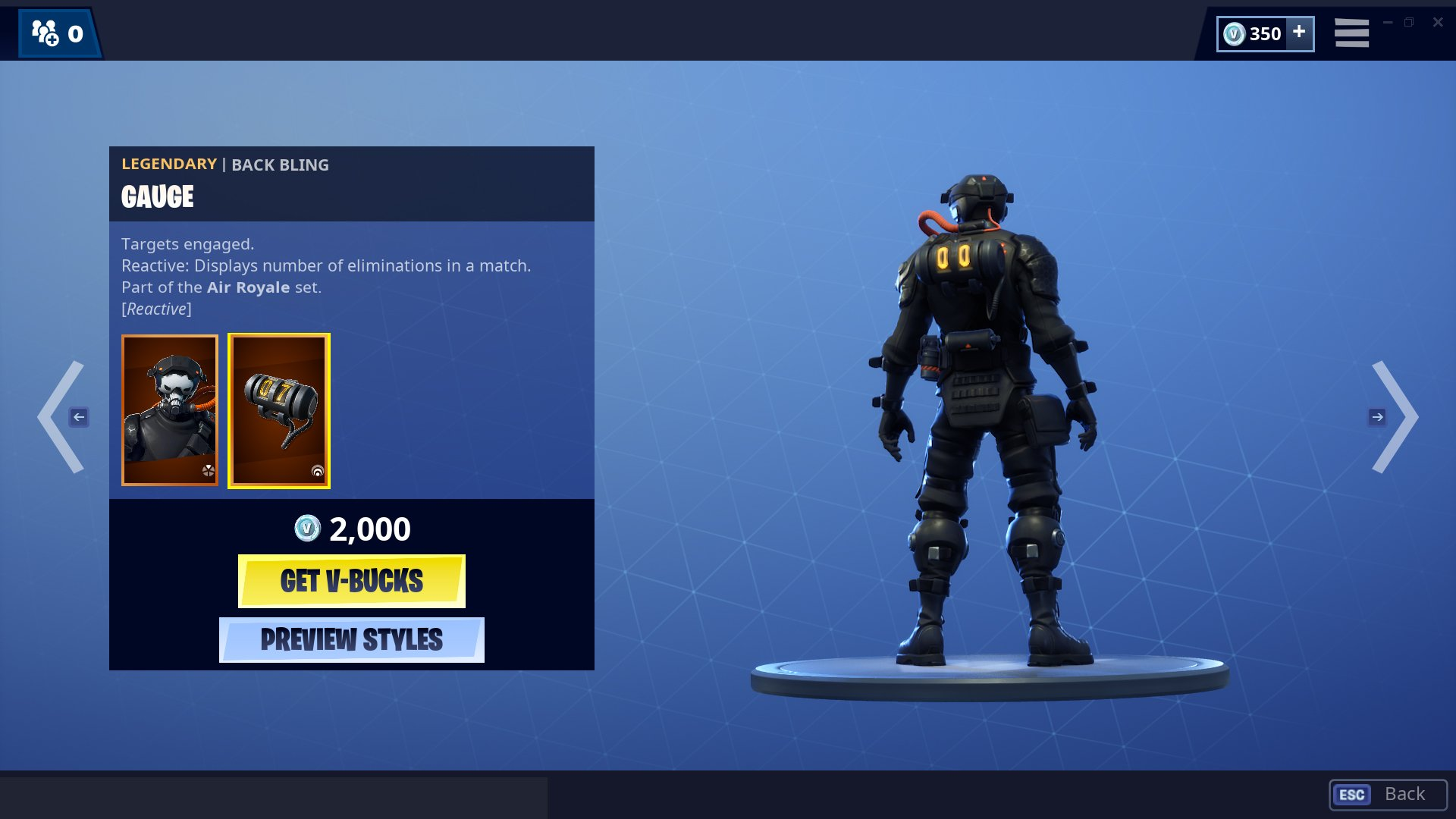 Fortnite Supersonic skin
