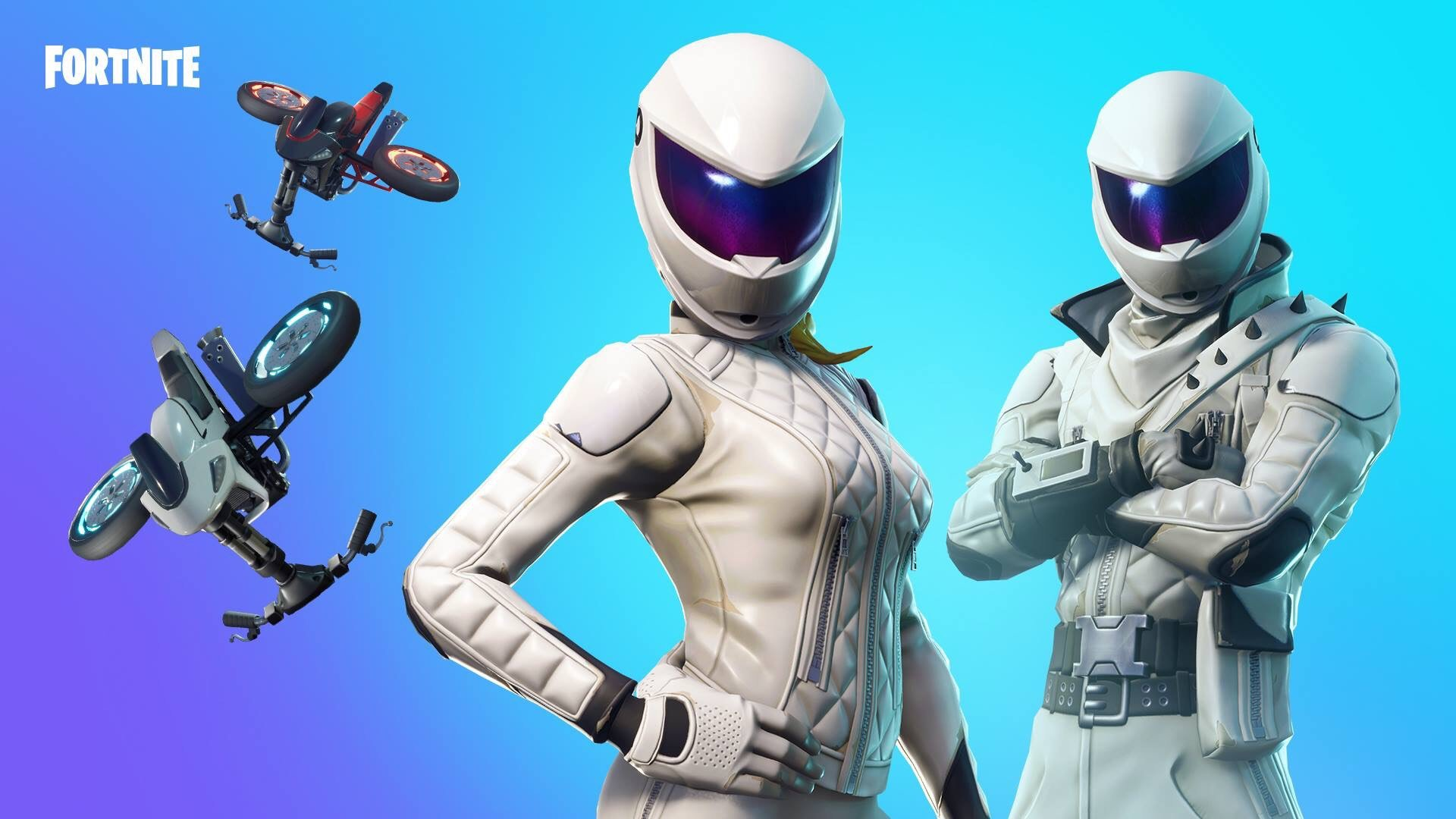 whiteout and overtaker outfits get new styles in fortnite - fortnite new elite agent style