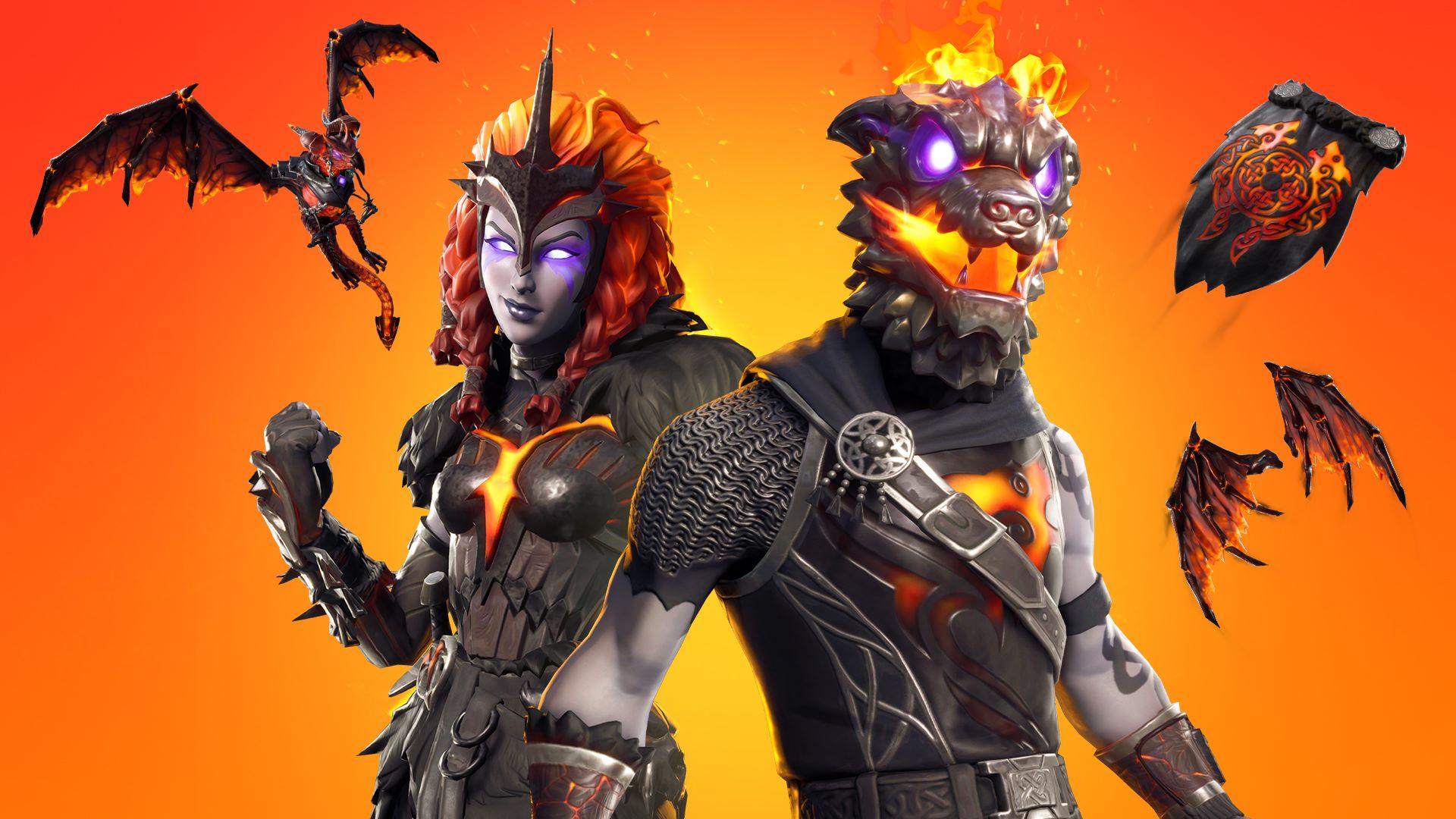 Fortnite Lava Legends Bundle