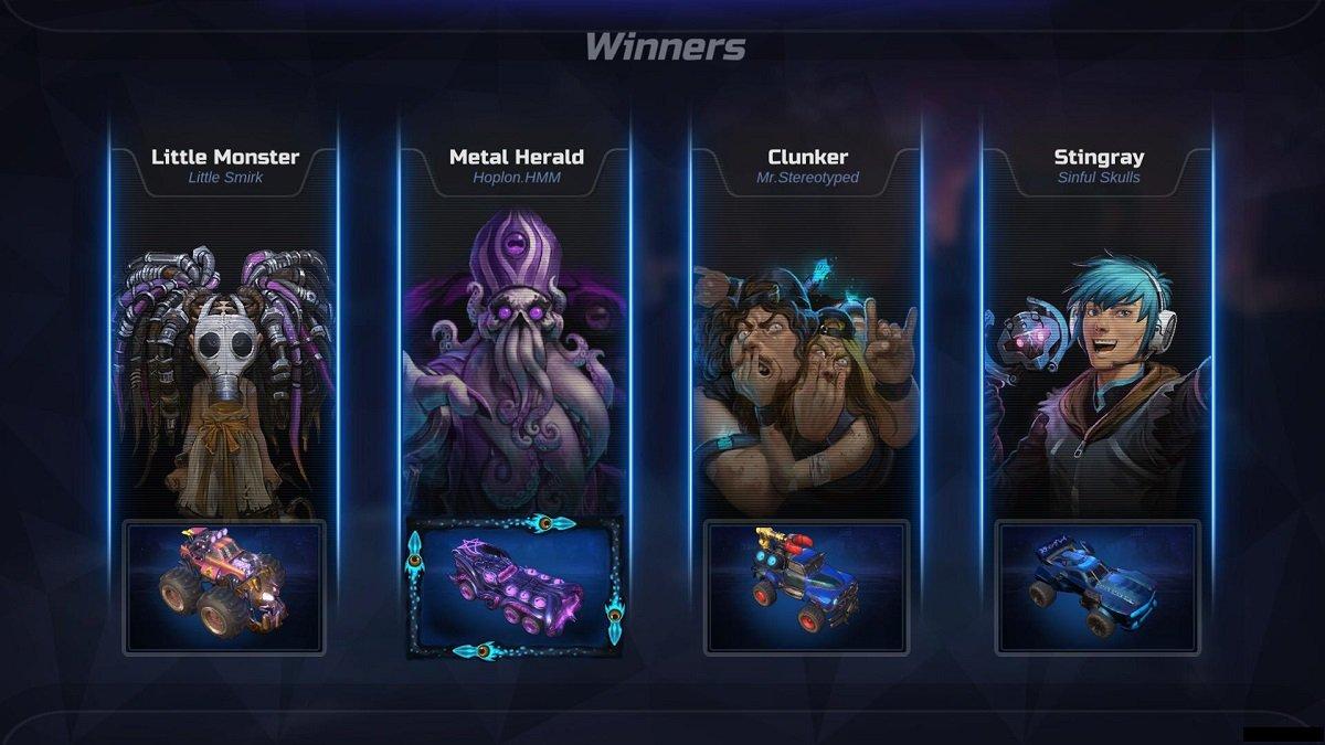 Heavy Metal Machines screenshot 02